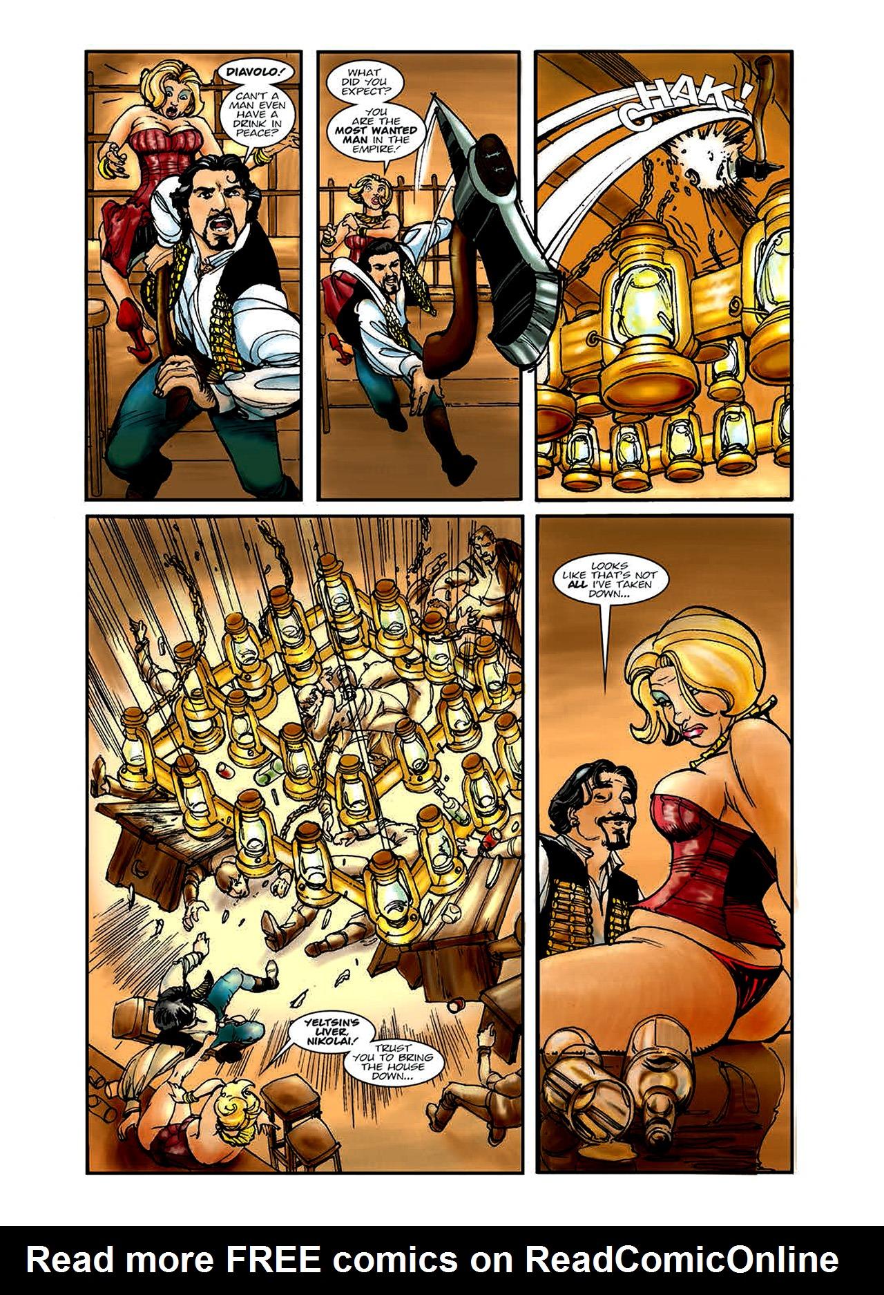 Read online Nikolai Dante comic -  Issue # TPB 6 - 13