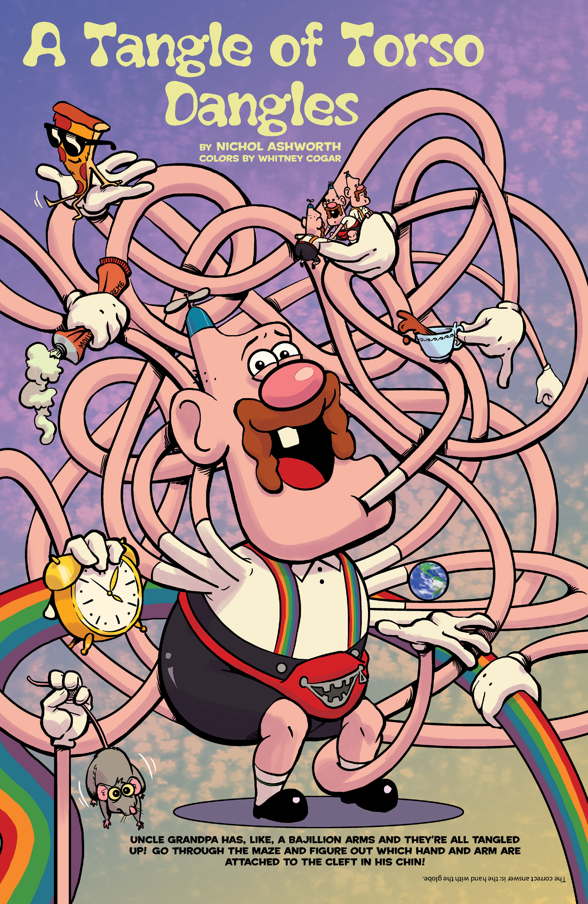 Read online Uncle Grandpa comic -  Issue #3 - 7