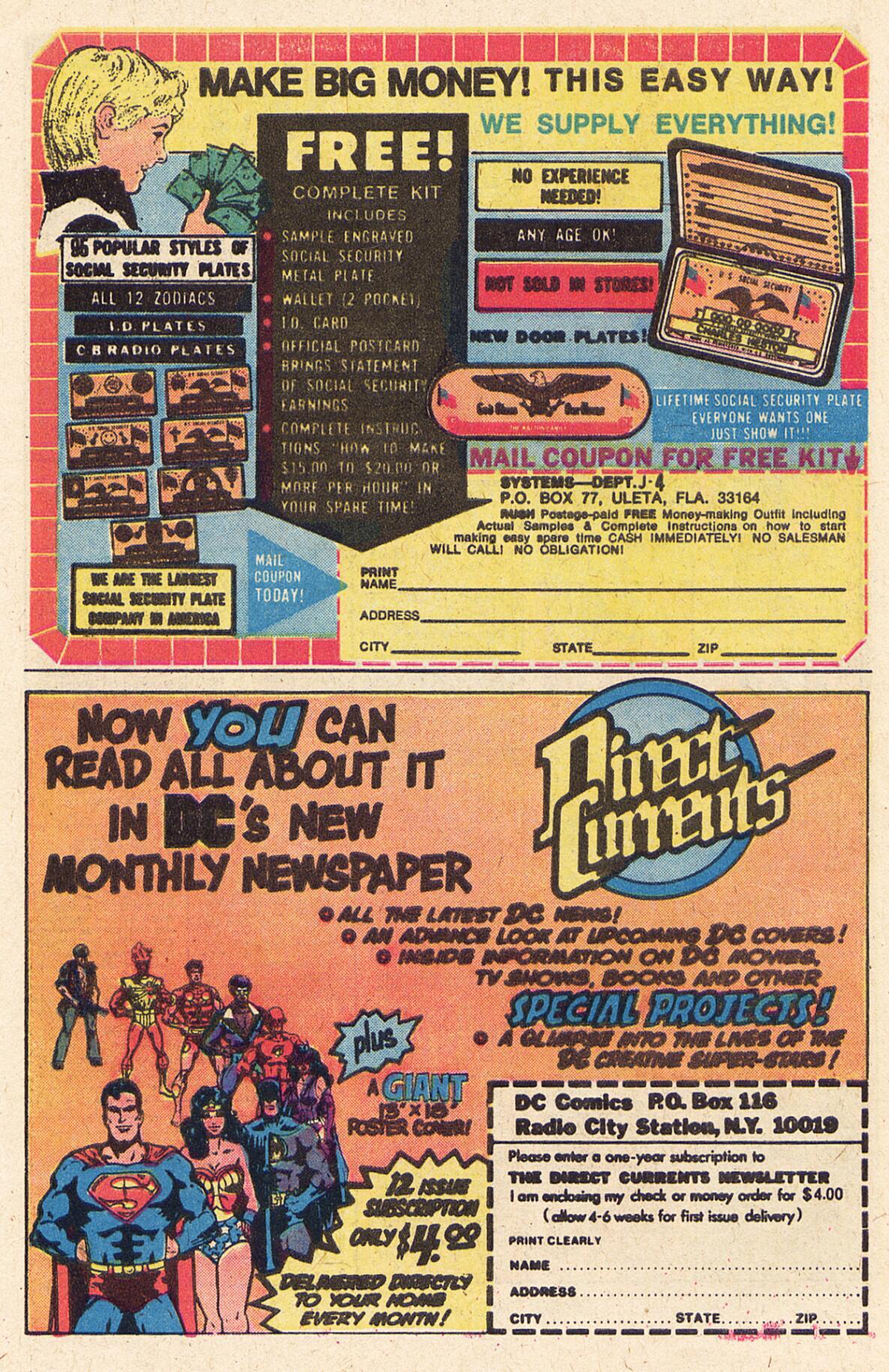 Read online Adventure Comics (1938) comic -  Issue #457 - 22