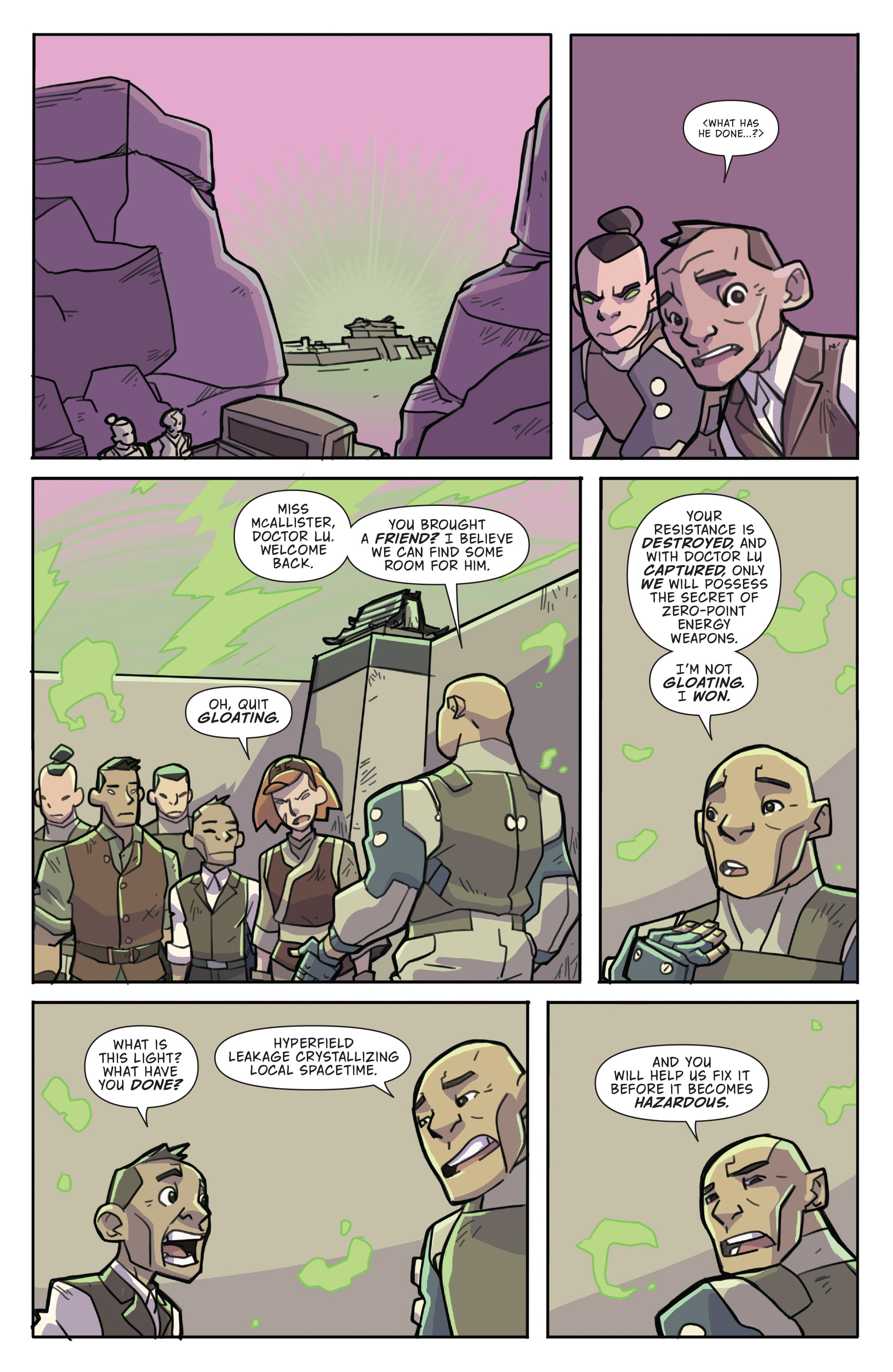 Read online Atomic Robo and the Temple of Od comic -  Issue #4 - 7