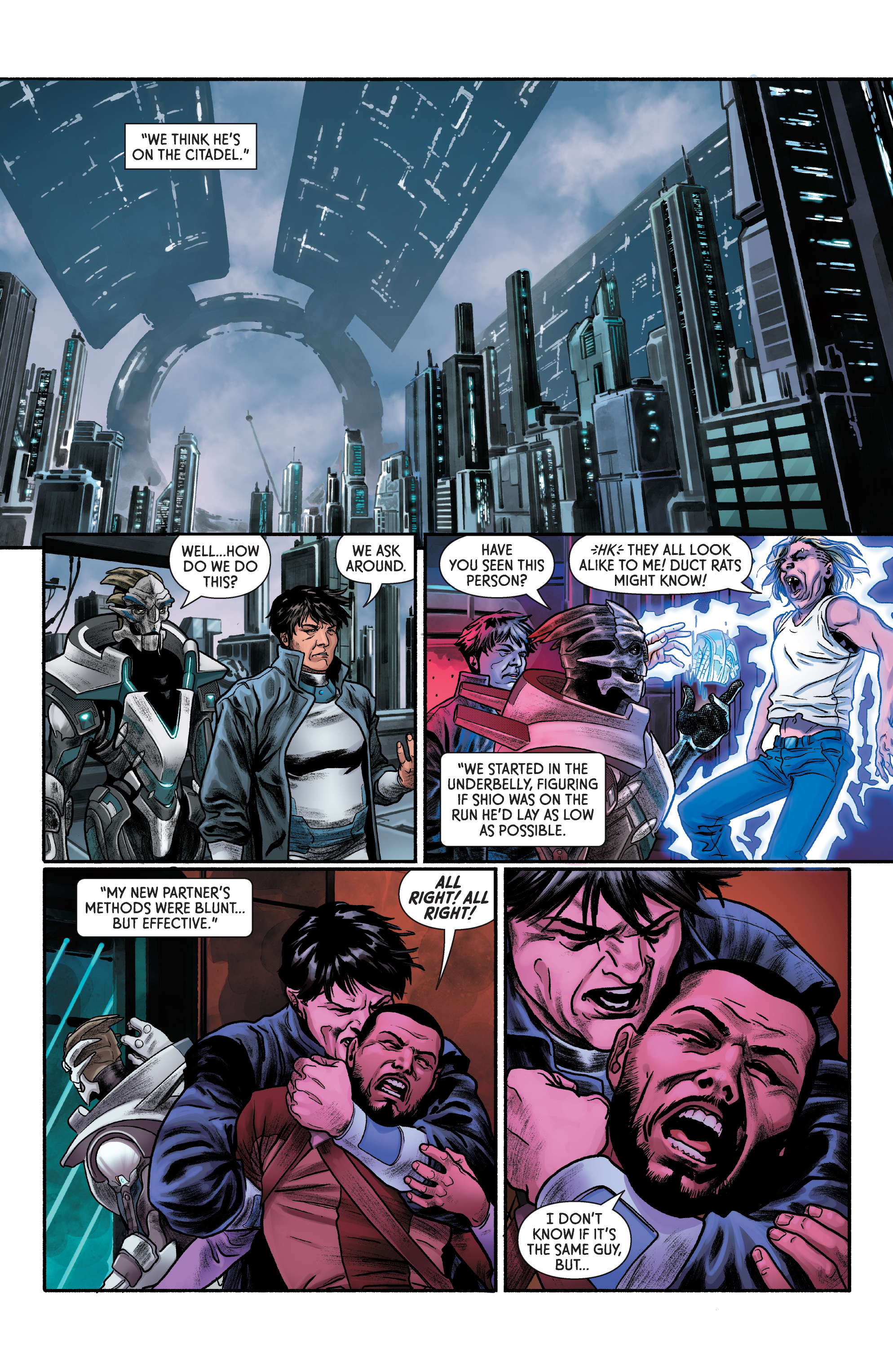 Read online Mass Effect: Discovery comic -  Issue #1 - 21