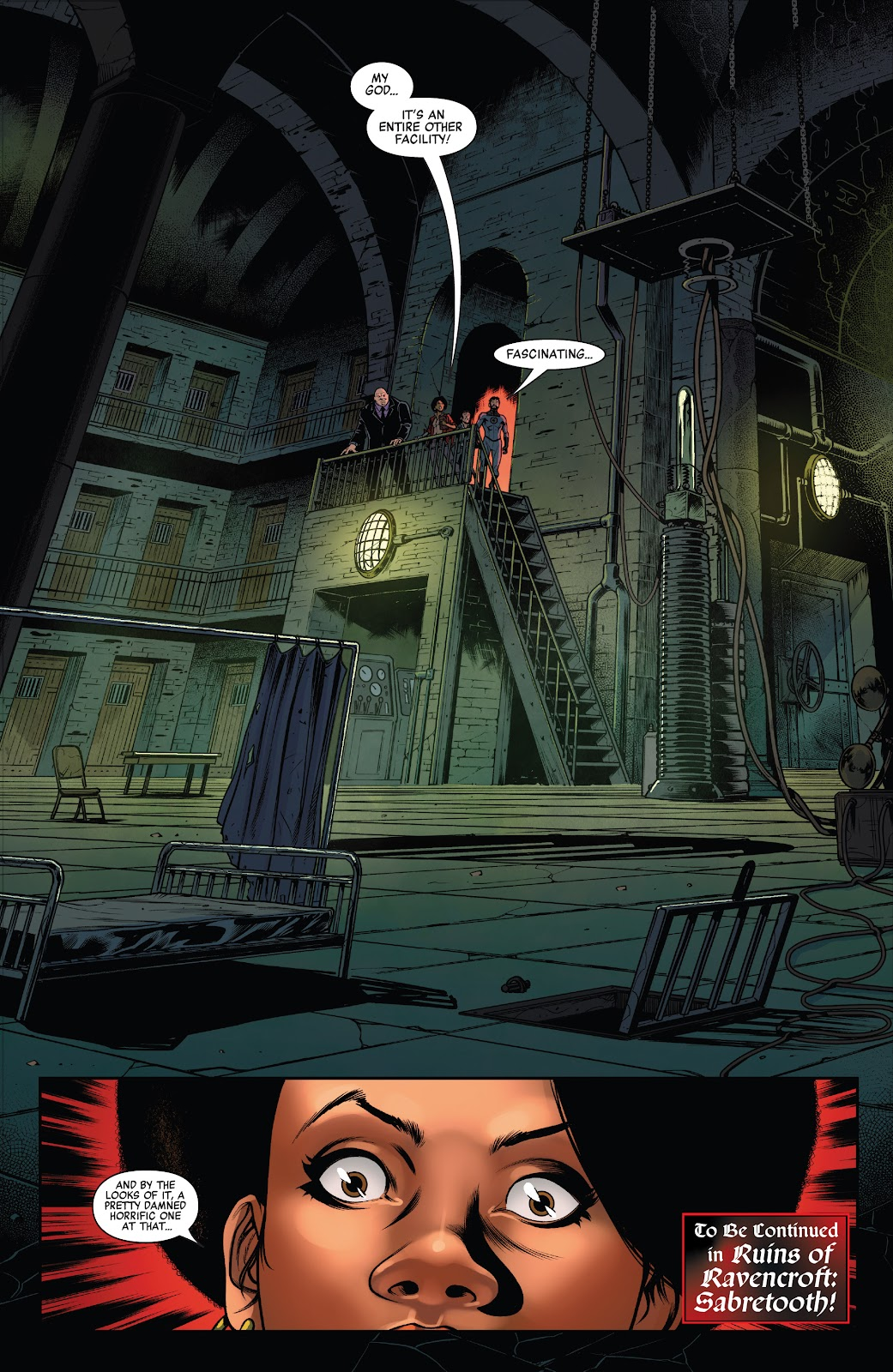 Read online Ruins Of Ravencroft comic -  Issue # Carnage - 32