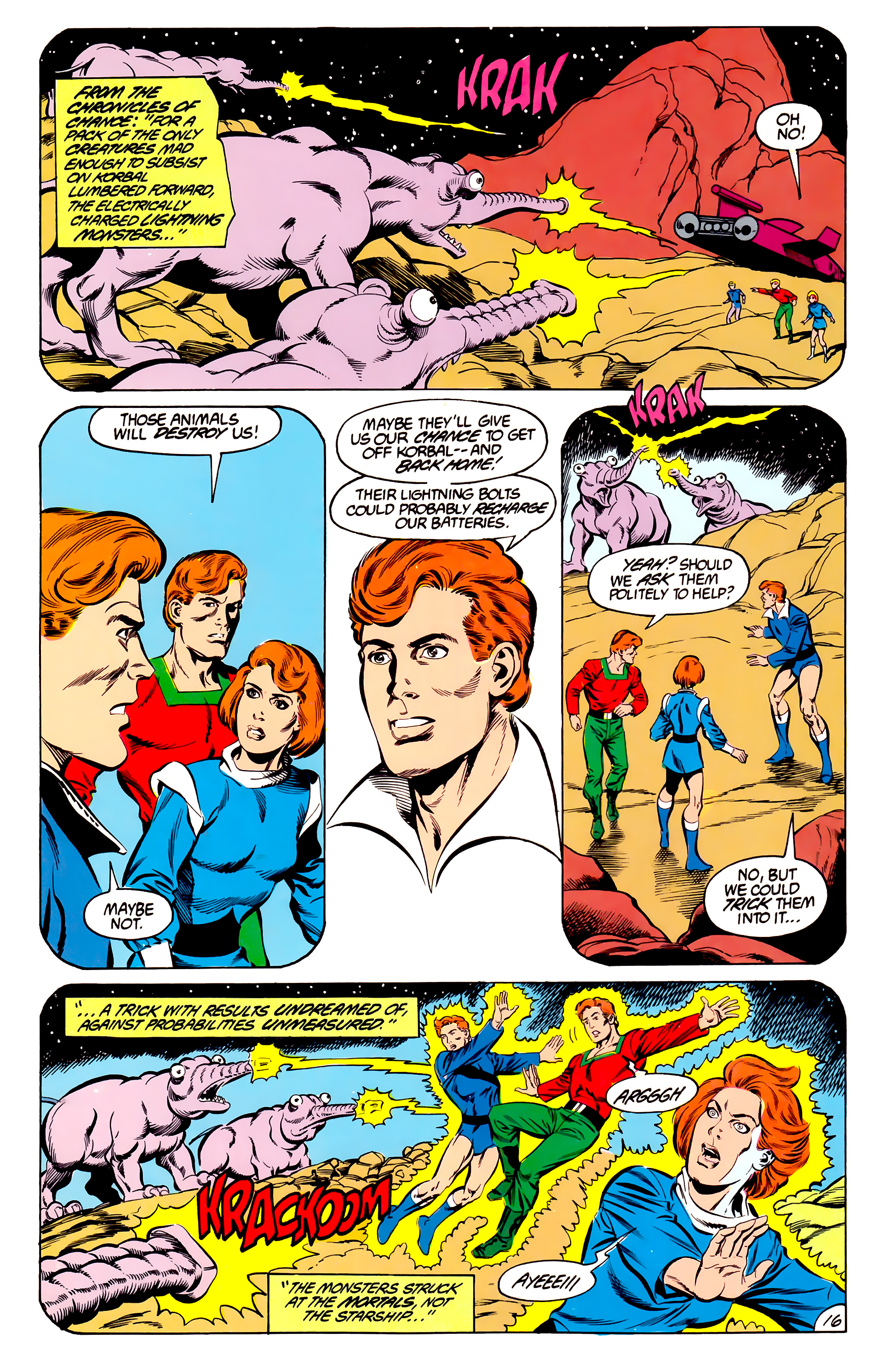 Legion of Super-Heroes (1984) 45 Page 16