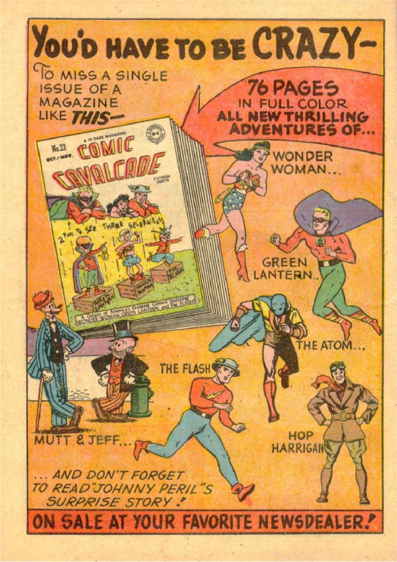 Read online Sensation (Mystery) Comics comic -  Issue #70 - 39