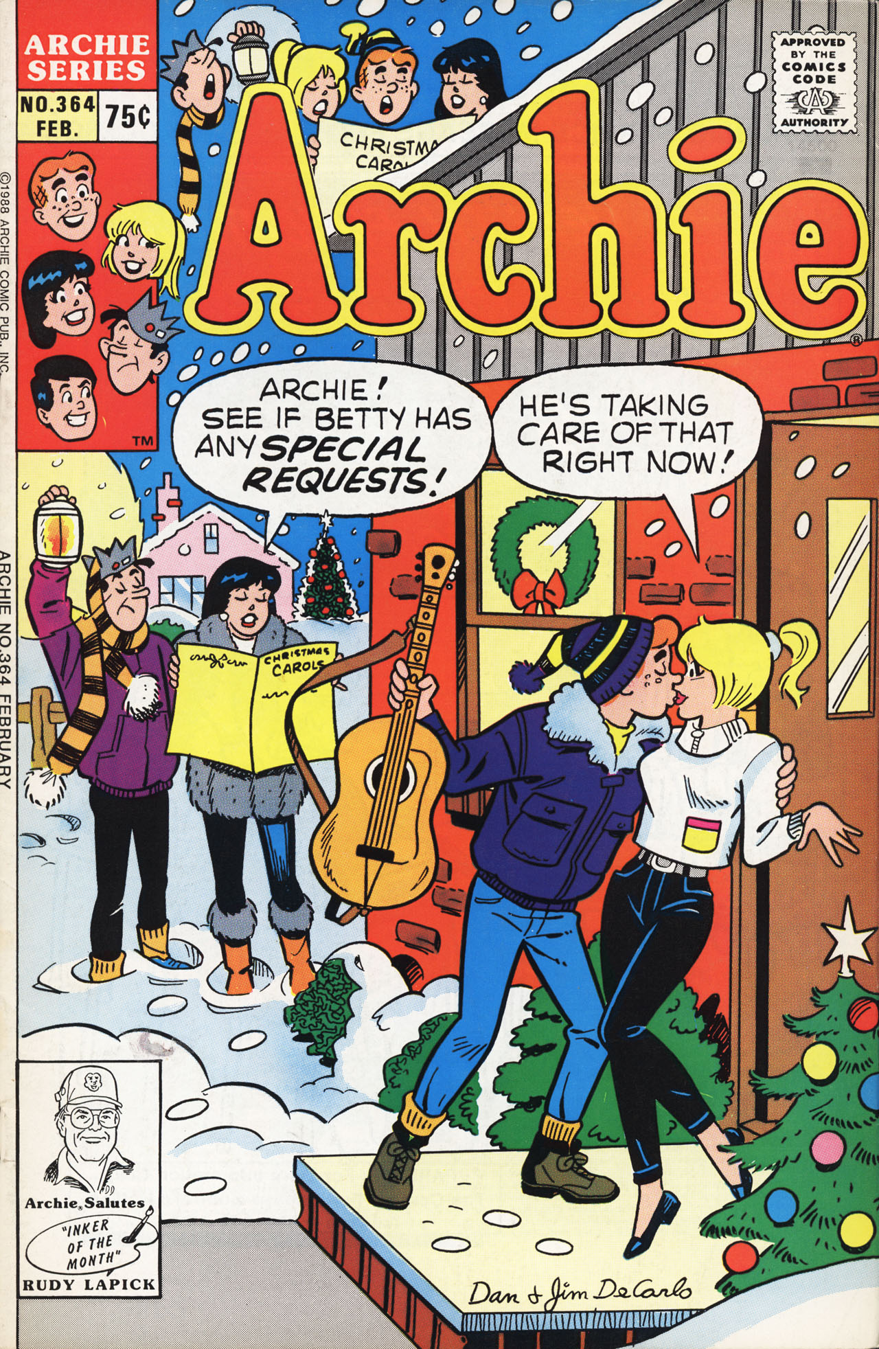 Read online Archie (1960) comic -  Issue #364 - 1