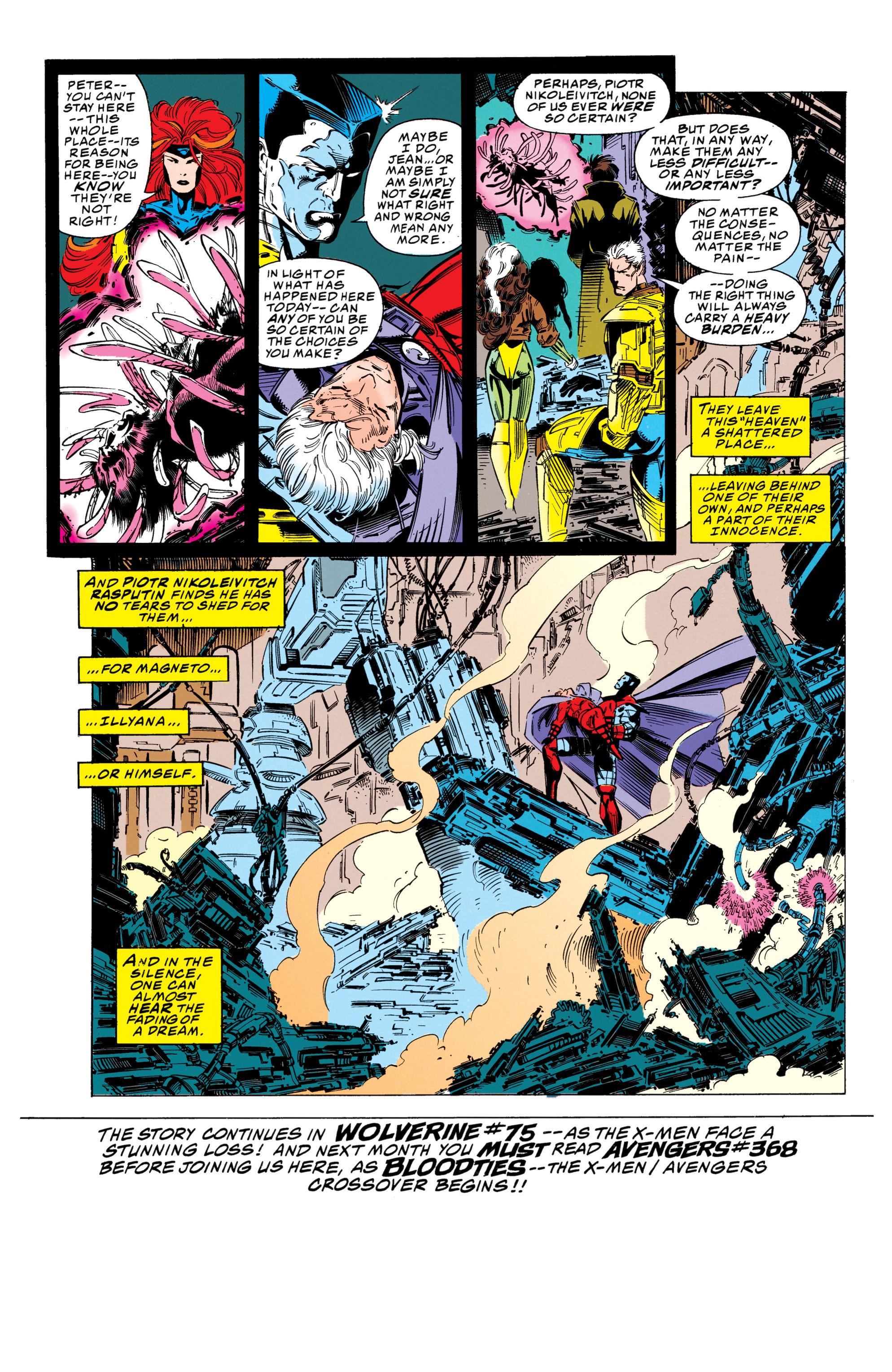 X-Men (1991) 25 Page 38