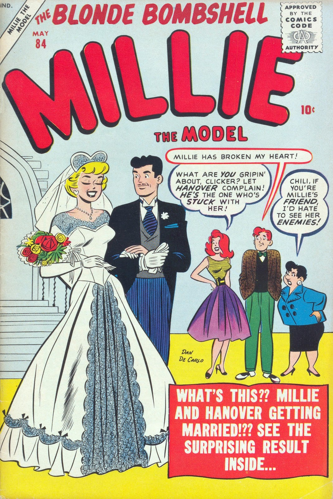Millie the Model issue 84 - Page 1