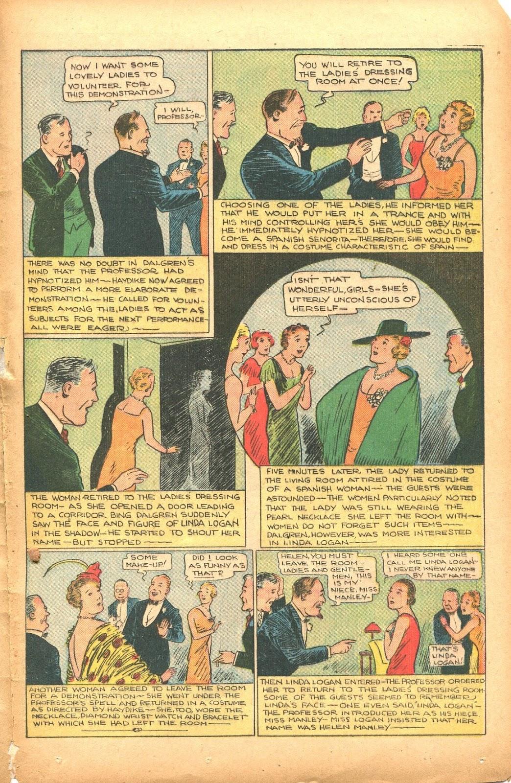 Read online Super-Magician Comics comic -  Issue #35 - 37