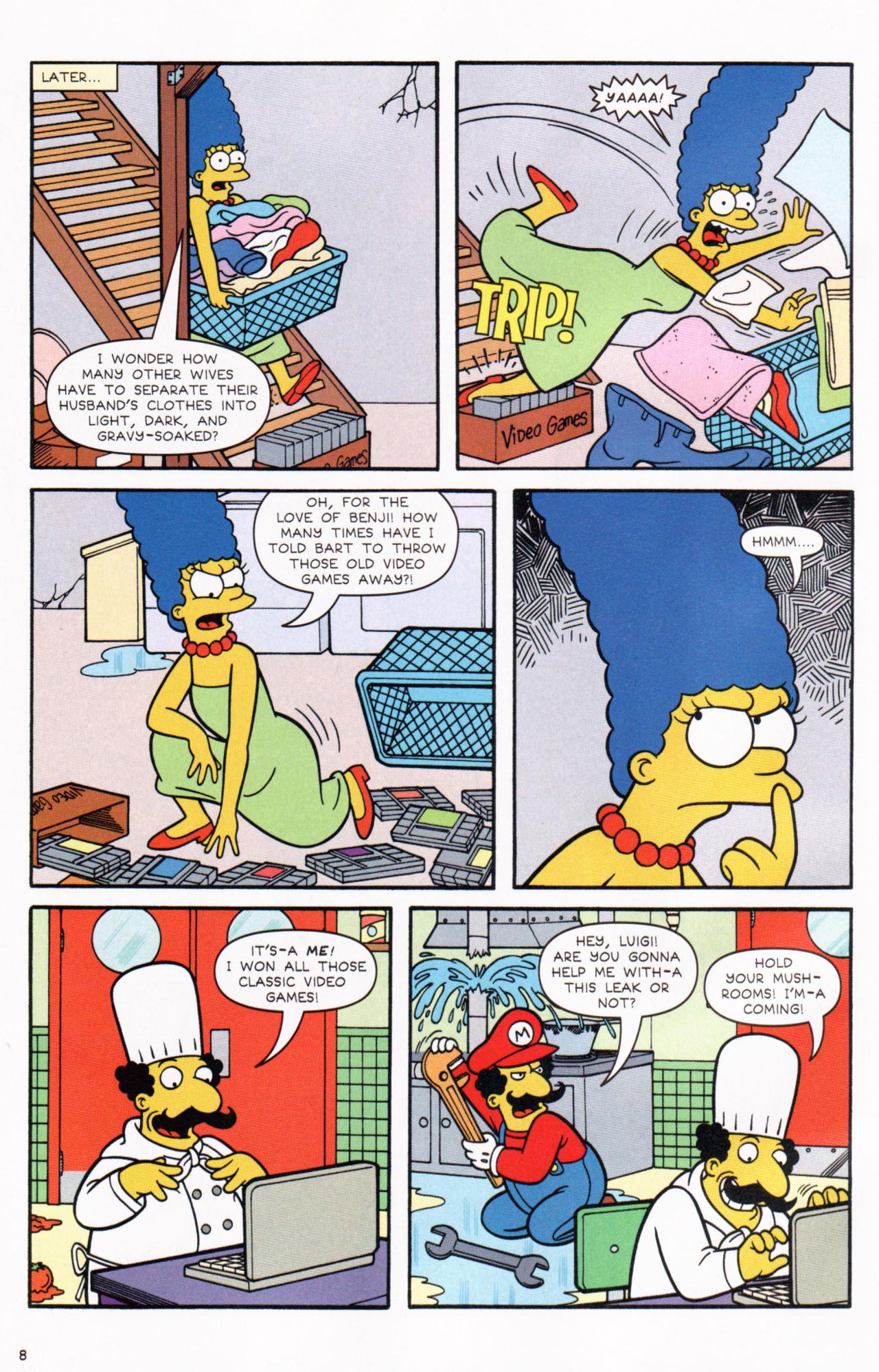 Read online Simpsons Comics comic -  Issue #130 - 8