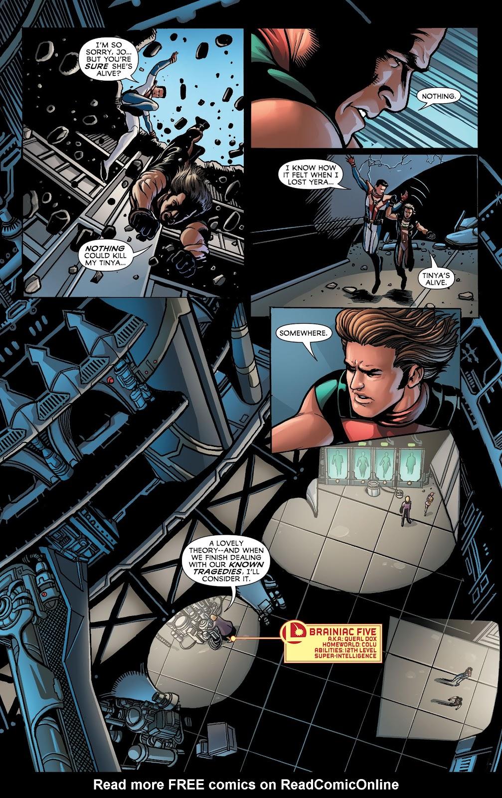 Legion of Super-Heroes (2011) Issue #23 #24 - English 6