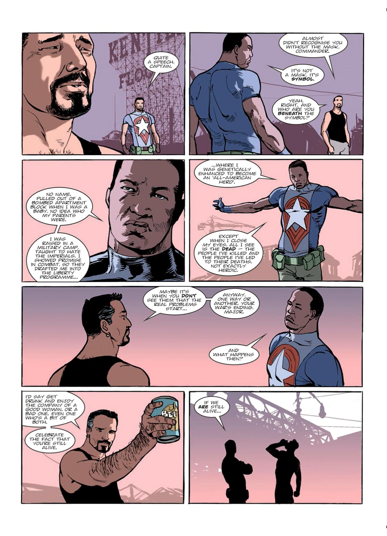 Read online Nikolai Dante comic -  Issue # TPB 9 - 57