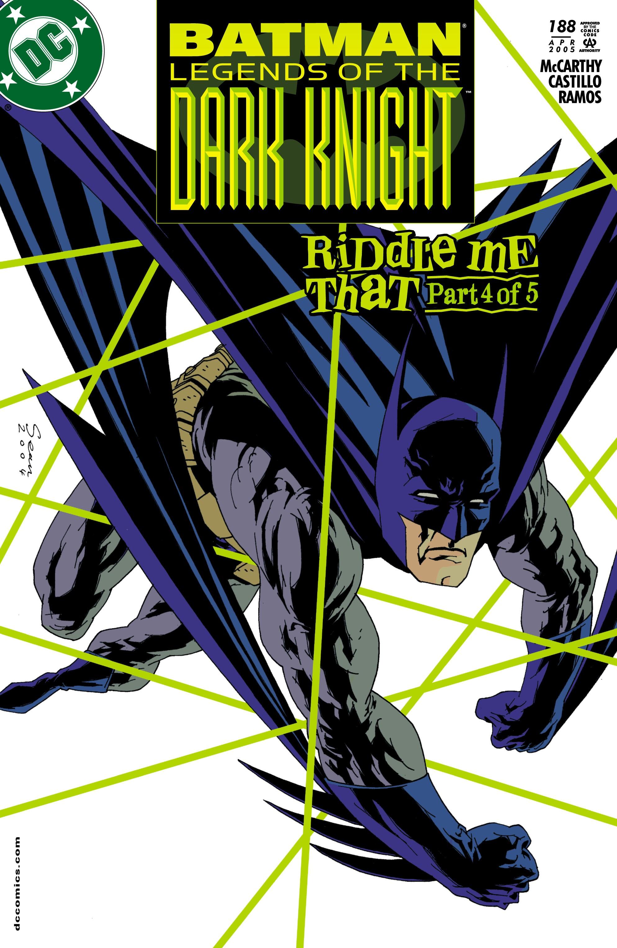 Batman: Legends of the Dark Knight 188 Page 1