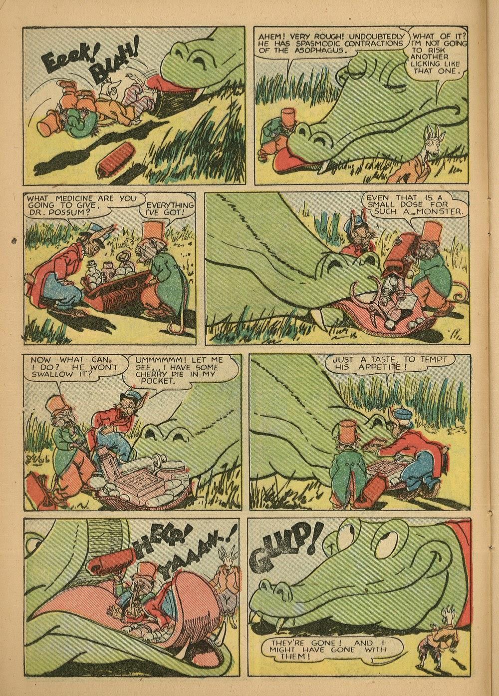 Read online Animal Comics comic -  Issue #24 - 18