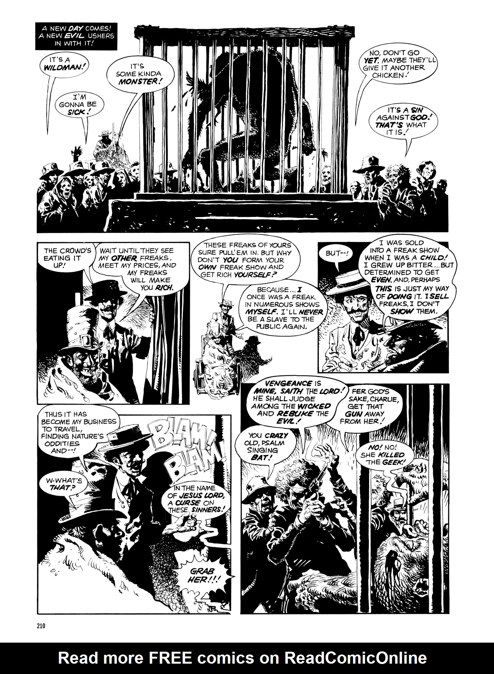 Read online Eerie Archives comic -  Issue # TPB 14 - 211