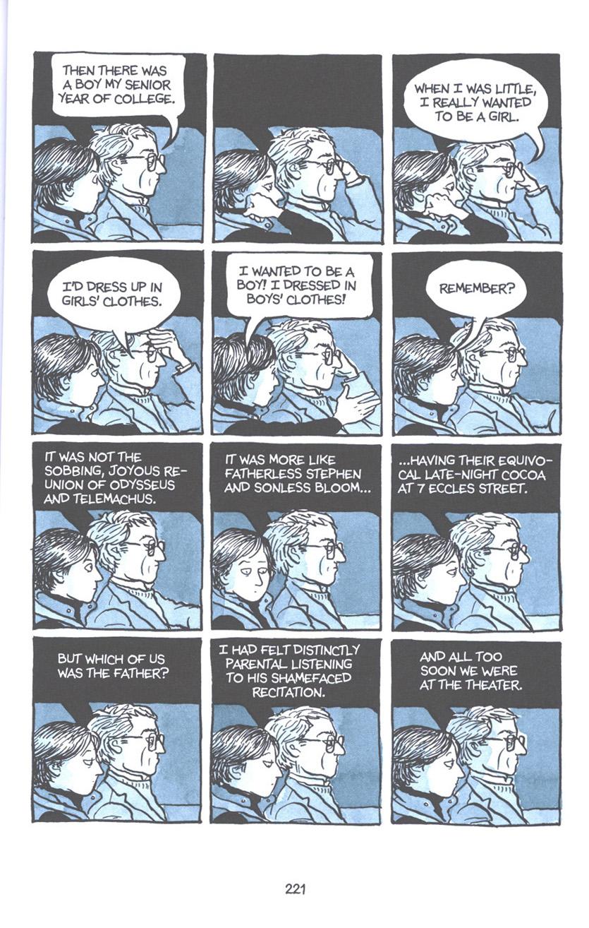 Read online Fun Home: A Family Tragicomic comic -  Issue # TPB - 227
