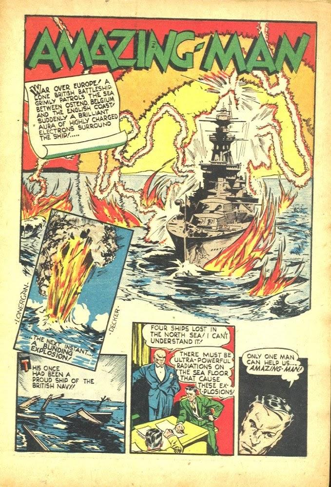 Read online Amazing Man Comics comic -  Issue #25 - 3