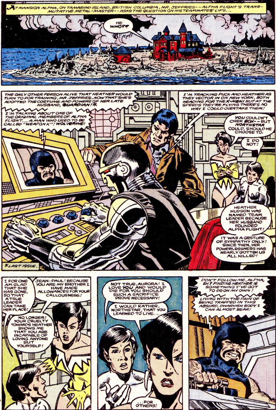 Read online Alpha Flight (1983) comic -  Issue #34 - 3