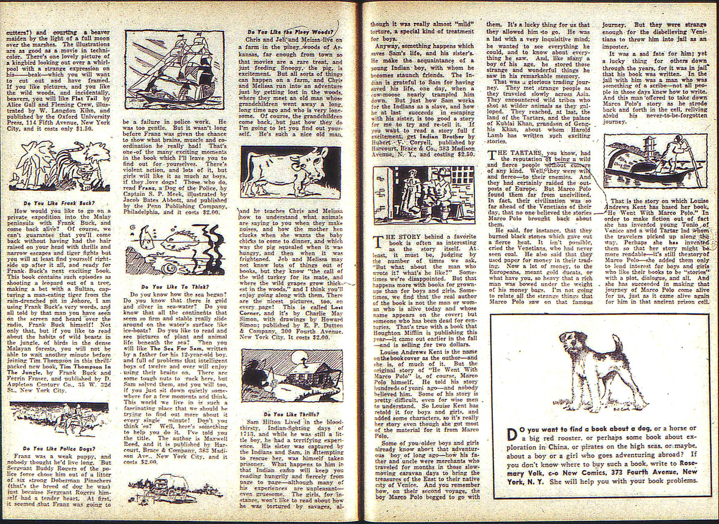 Read online Adventure Comics (1938) comic -  Issue #2 - 33