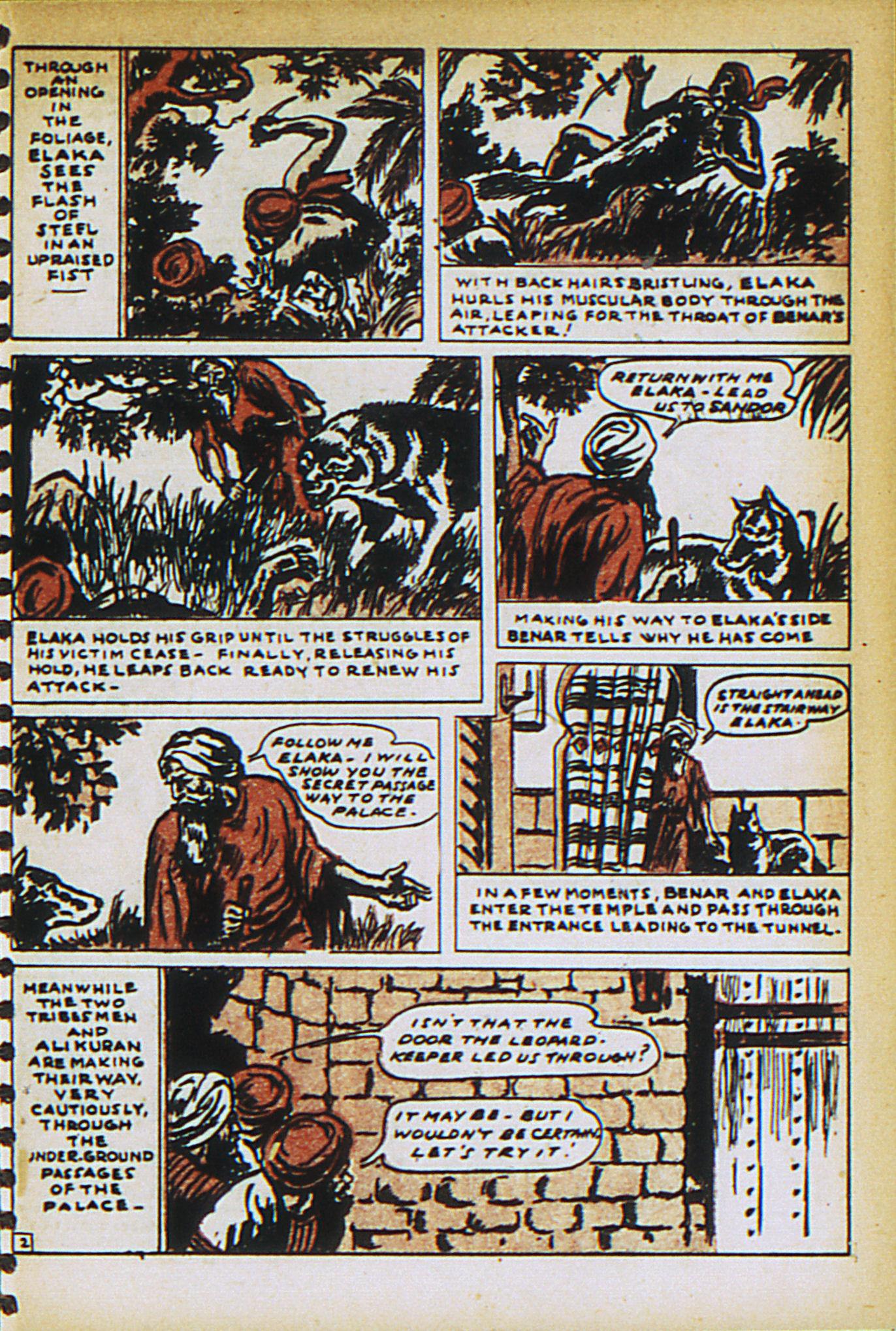 Read online Adventure Comics (1938) comic -  Issue #27 - 39
