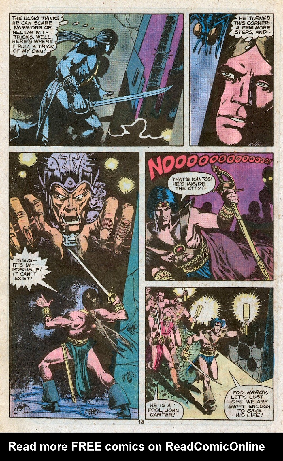 John Carter Warlord of Mars issue 28 - Page 16