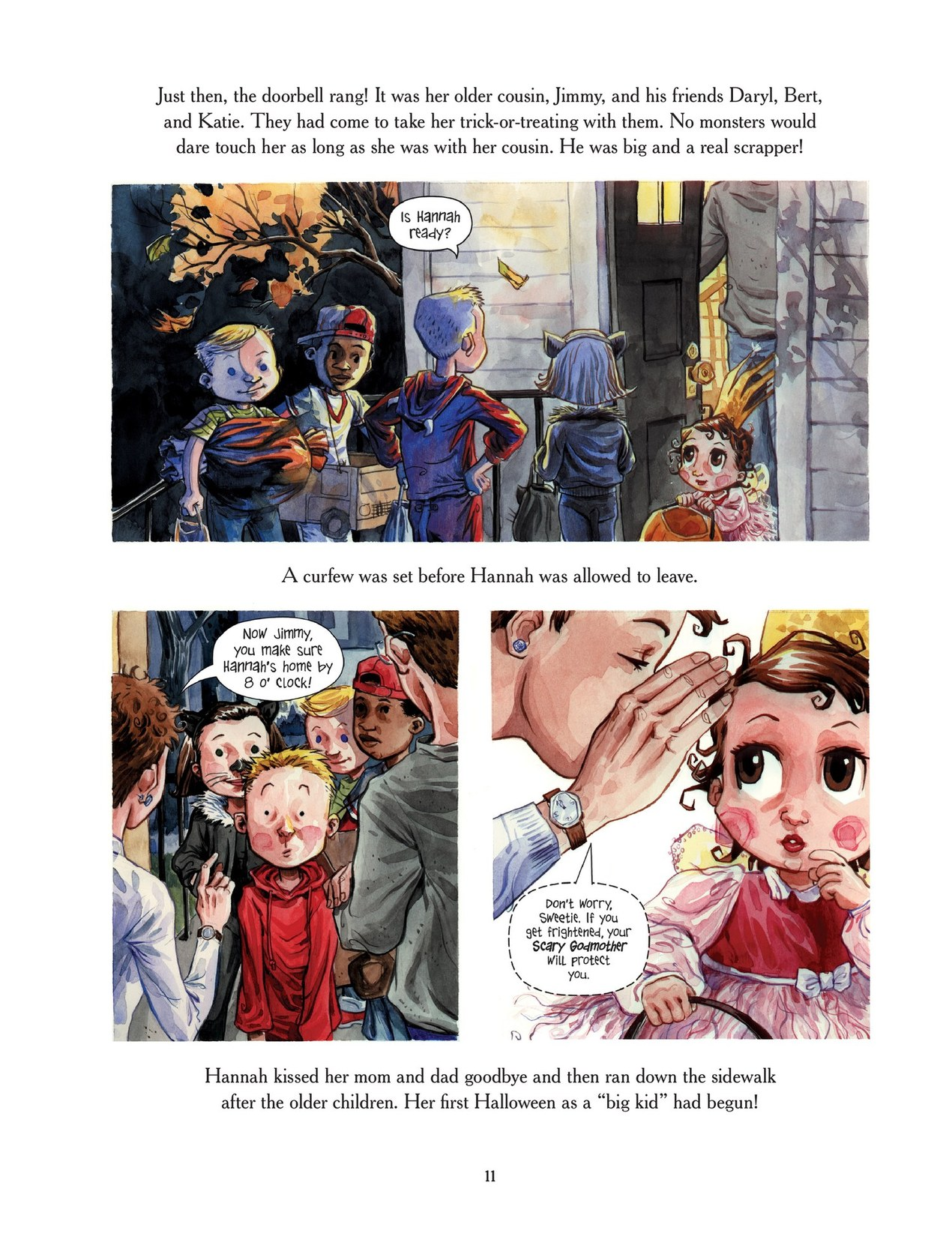 Read online Scary Godmother comic -  Issue # TPB - 11