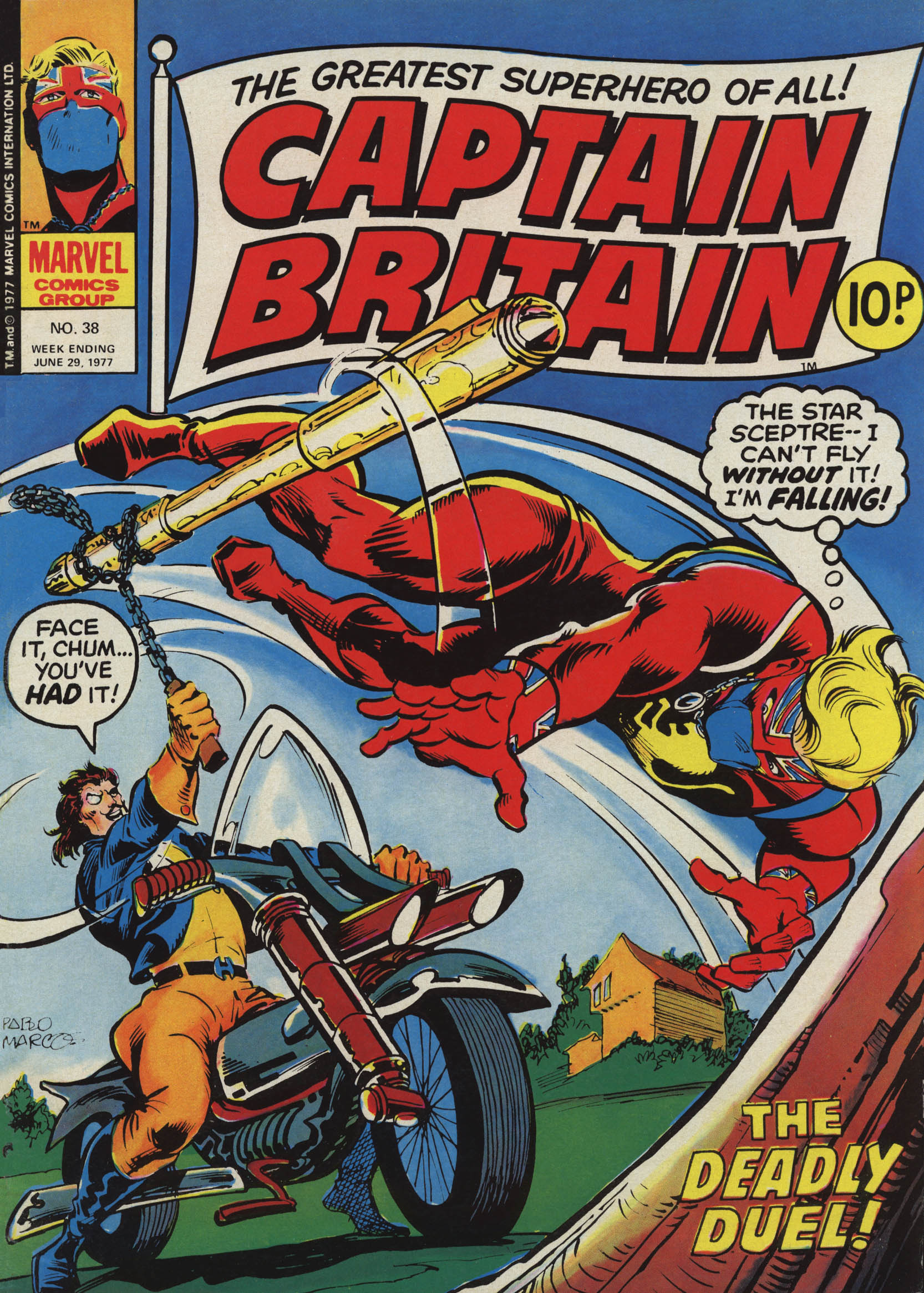Captain Britain 1976 Issue 38 | Viewcomic reading comics