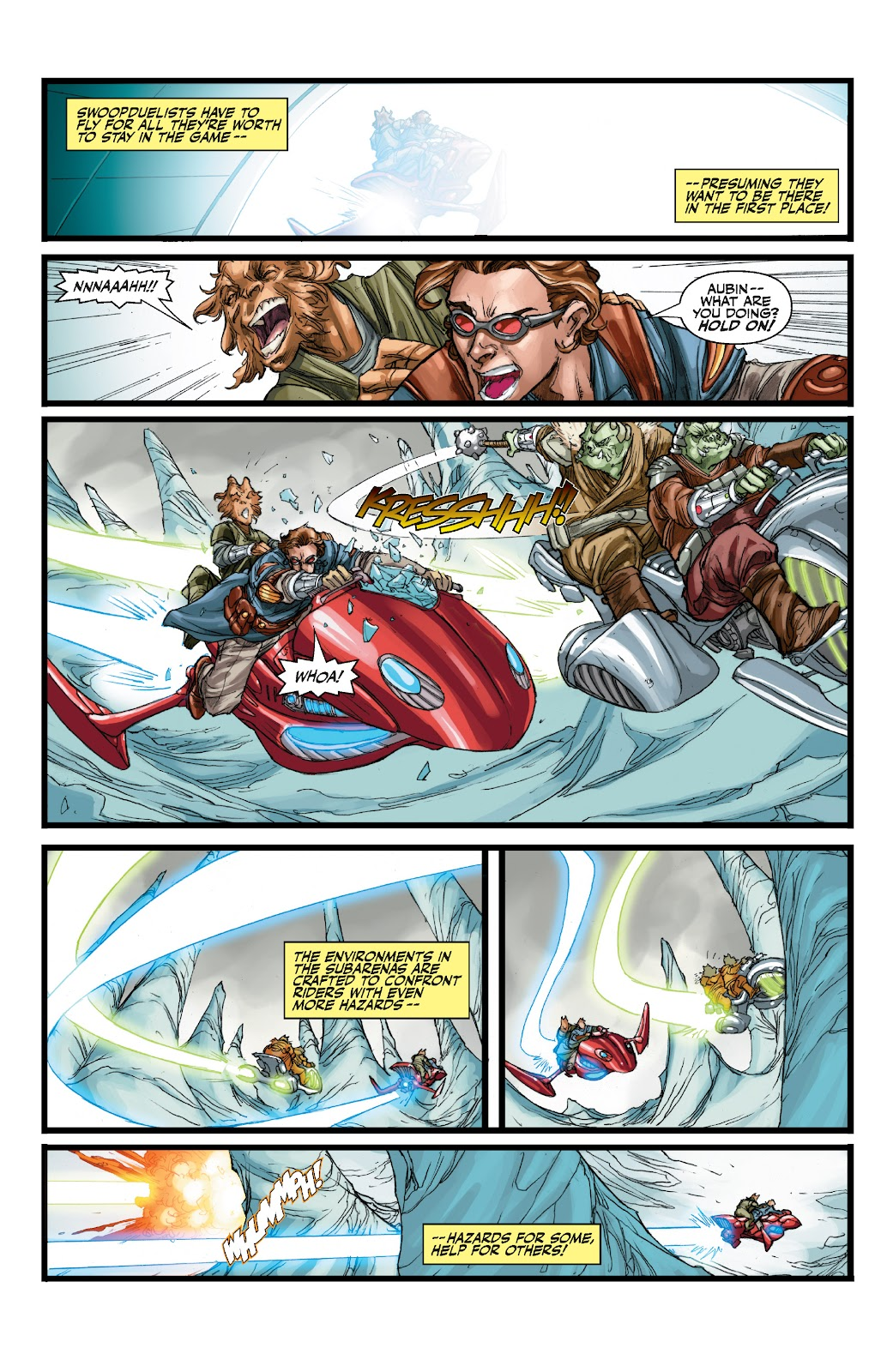 Read online Star Wars Legends: The Old Republic - Epic Collection comic -  Issue # TPB 3 (Part 1) - 55