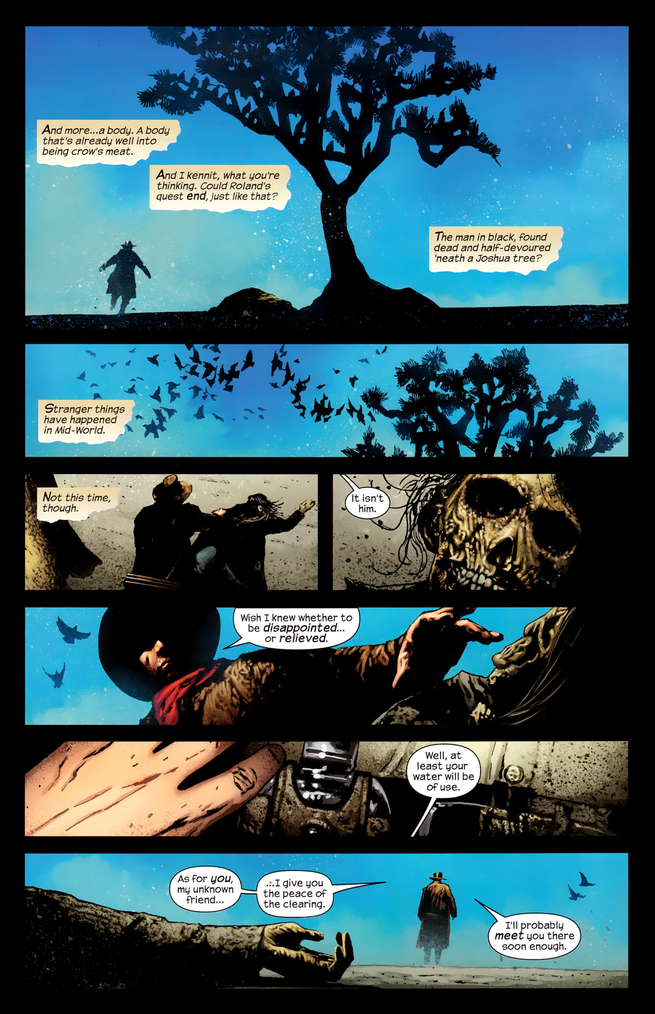 Read online Dark Tower: The Gunslinger - The Way Station comic -  Issue #1 - 8