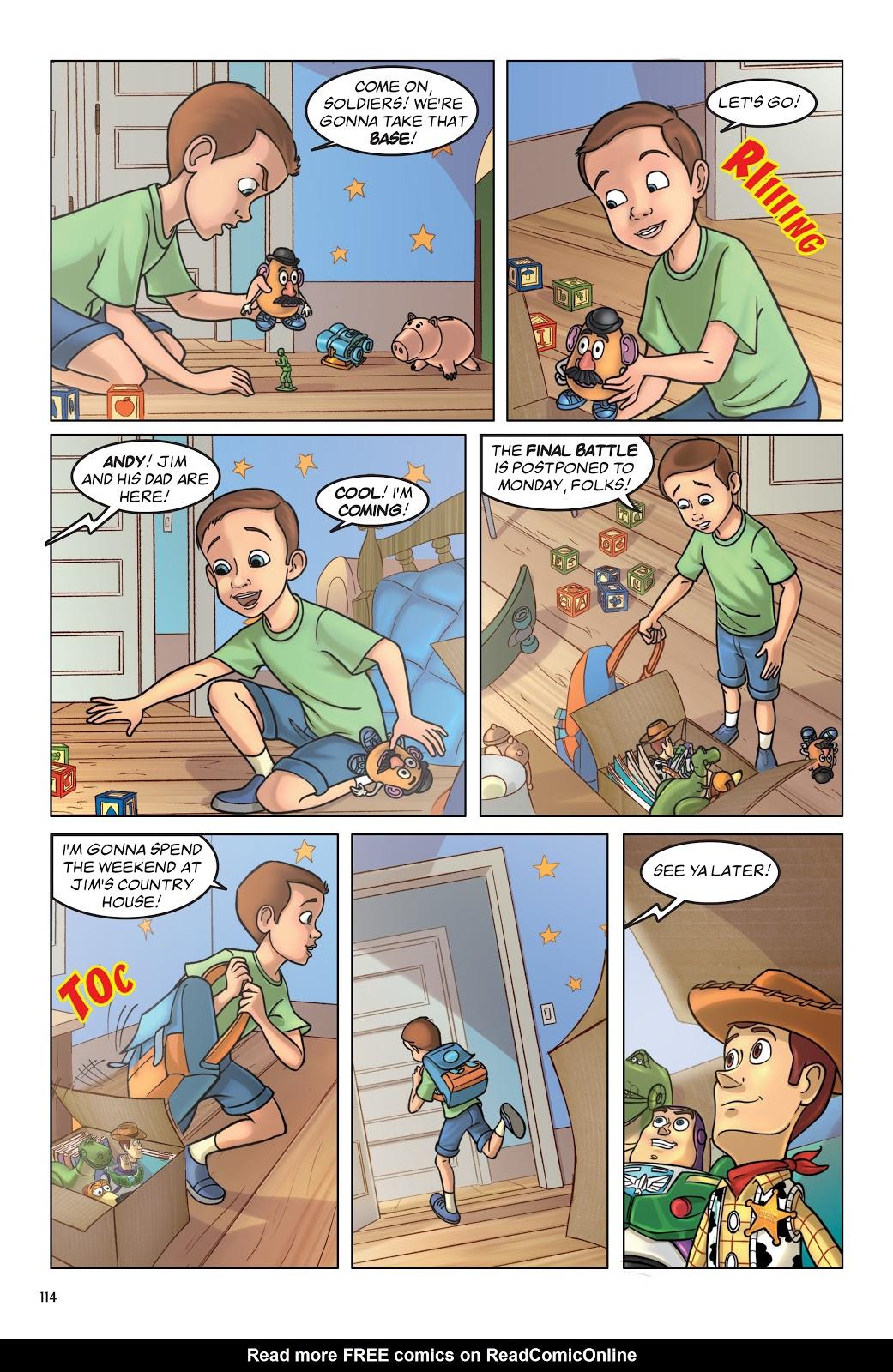 Read online DISNEY·PIXAR Toy Story Adventures comic -  Issue # TPB 1 (Part 2) - 14