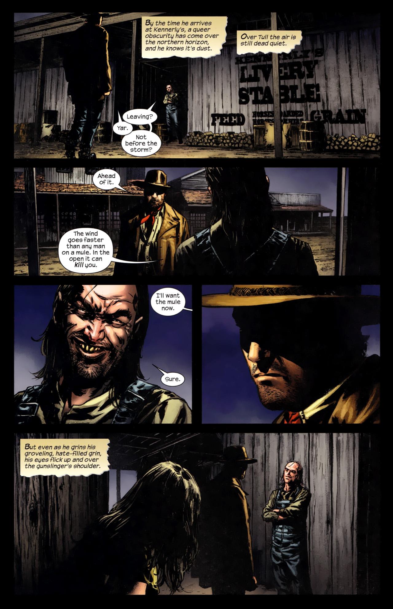 Read online Dark Tower: The Gunslinger - The Battle of Tull comic -  Issue #4 - 18
