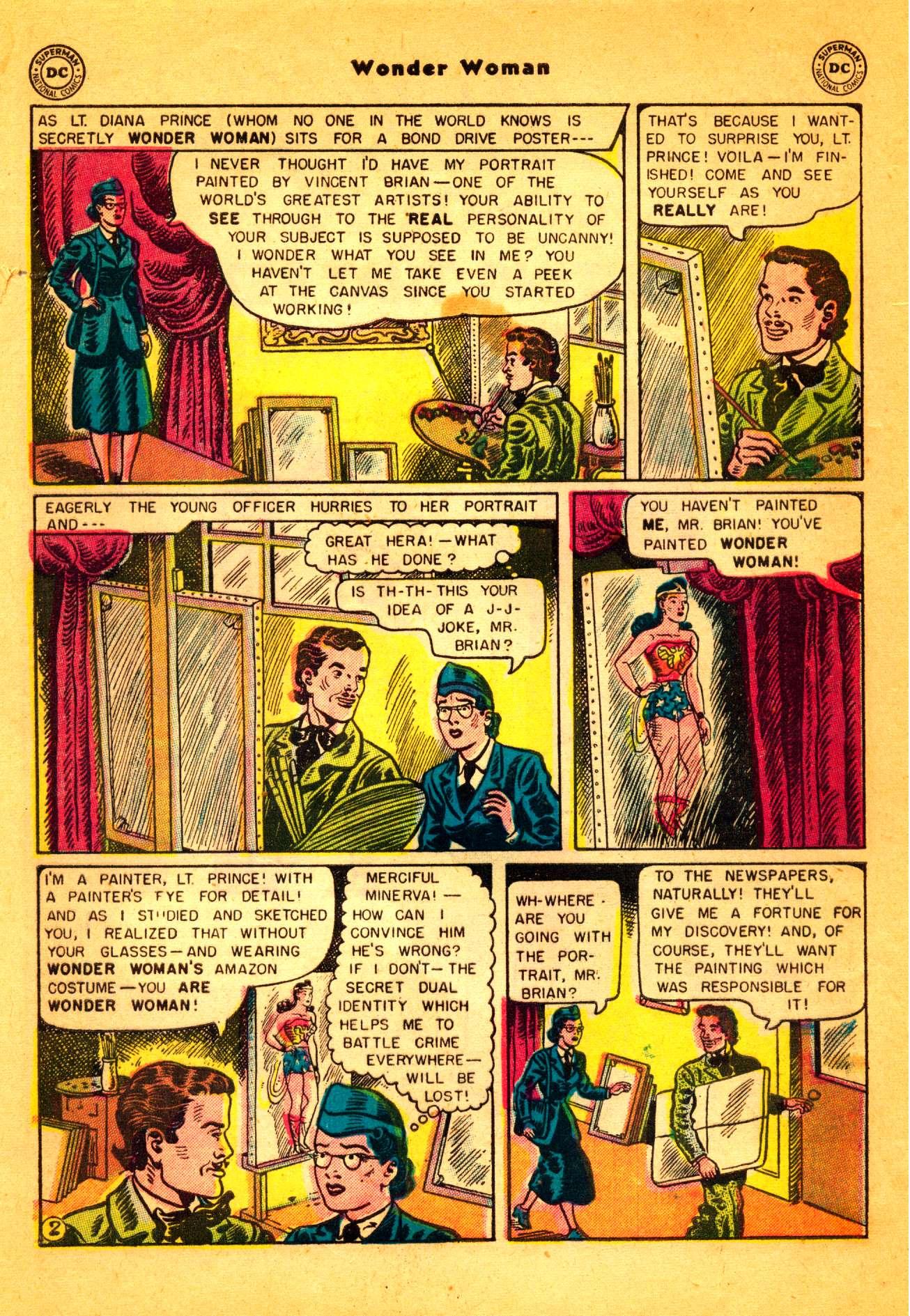 Read online Wonder Woman (1942) comic -  Issue #86 - 3