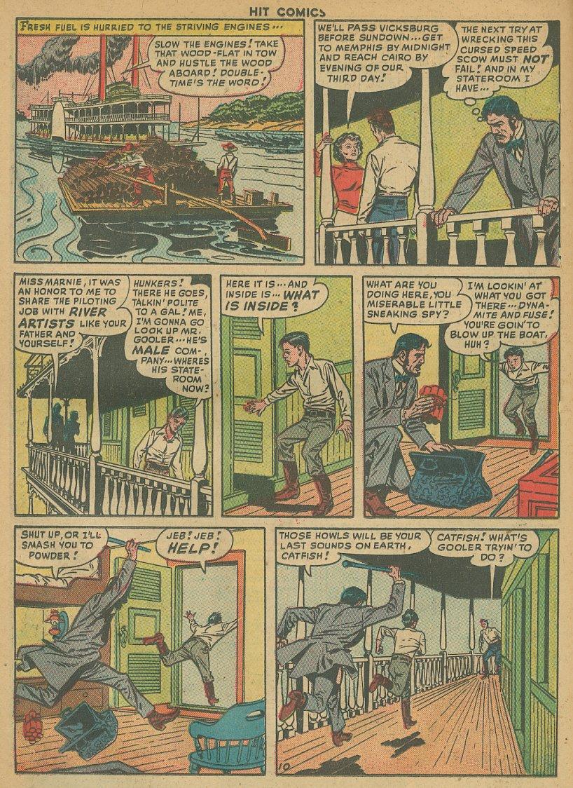 Read online Hit Comics comic -  Issue #61 - 12
