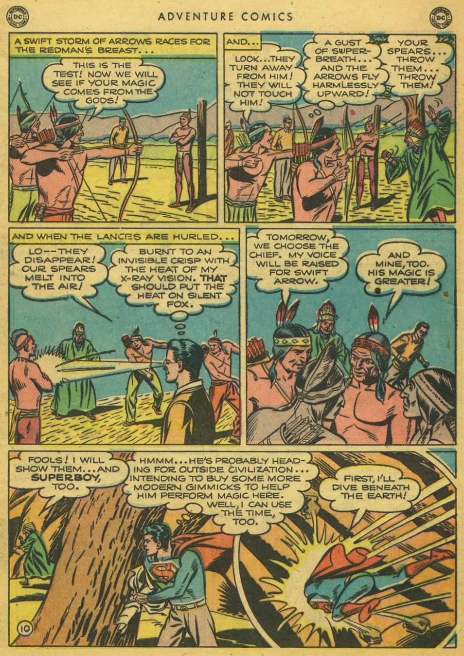 Read online Adventure Comics (1938) comic -  Issue #164 - 12