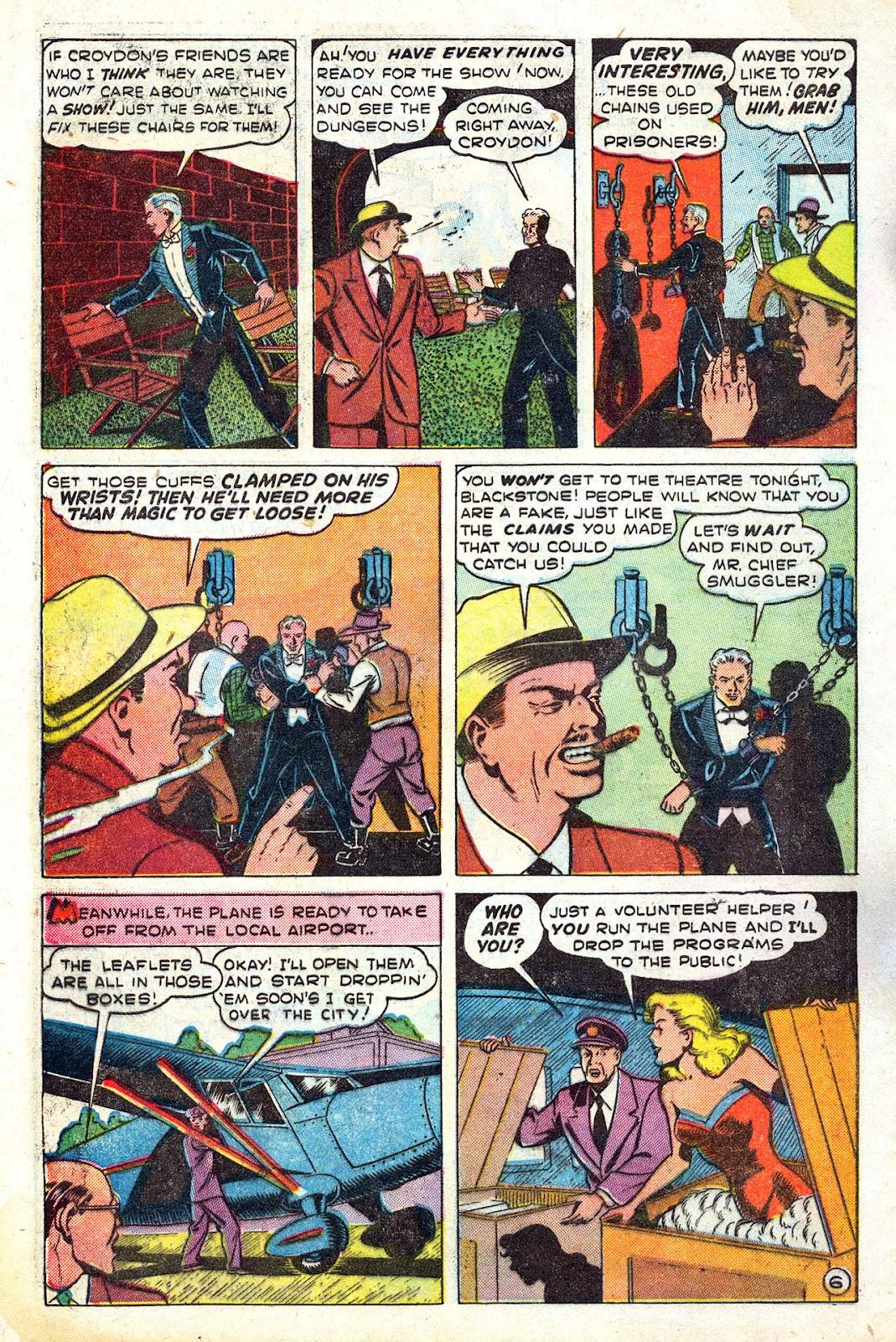 Read online Blackstone the Magician comic -  Issue #4 - 8