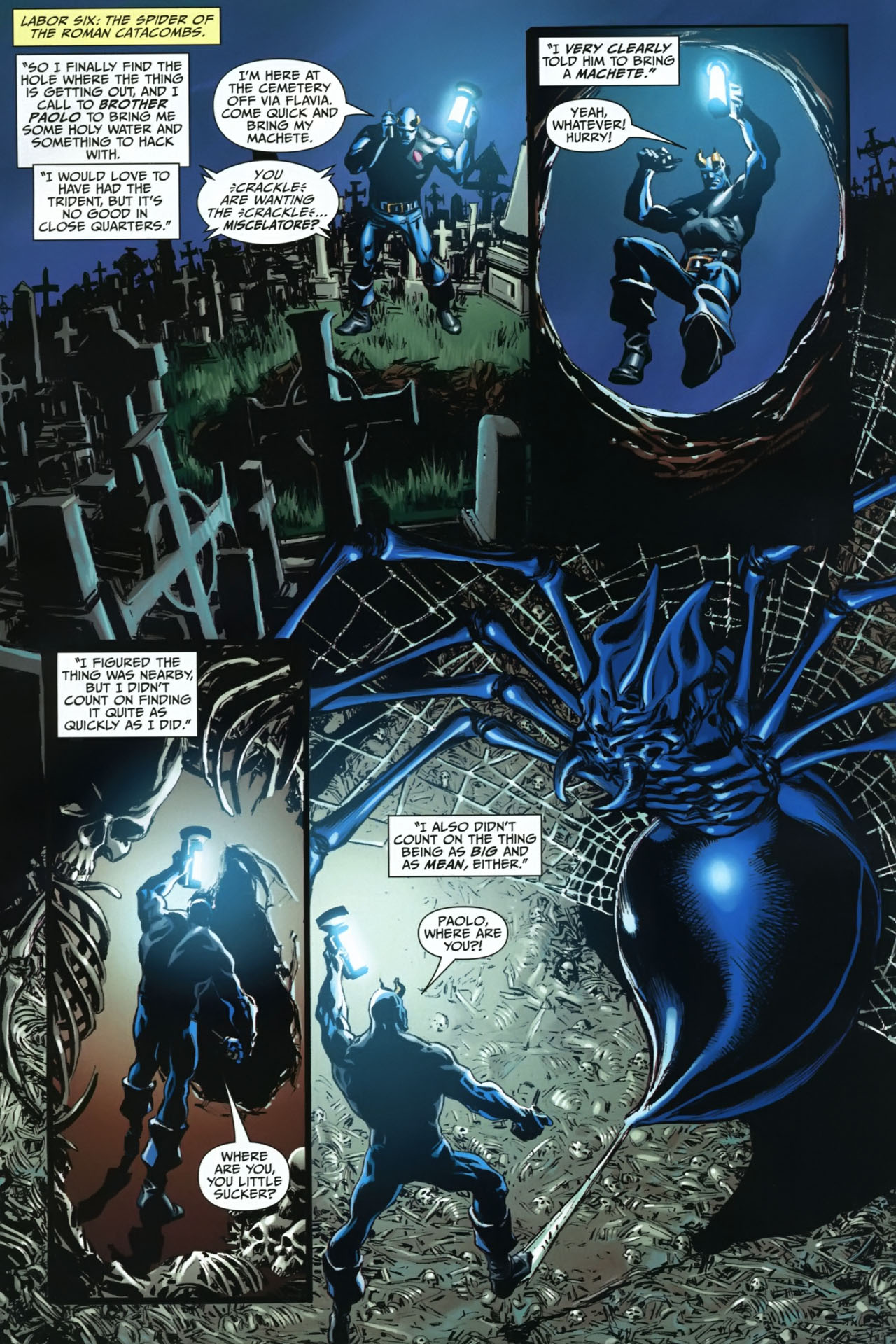 Read online Shadowpact comic -  Issue #23 - 8