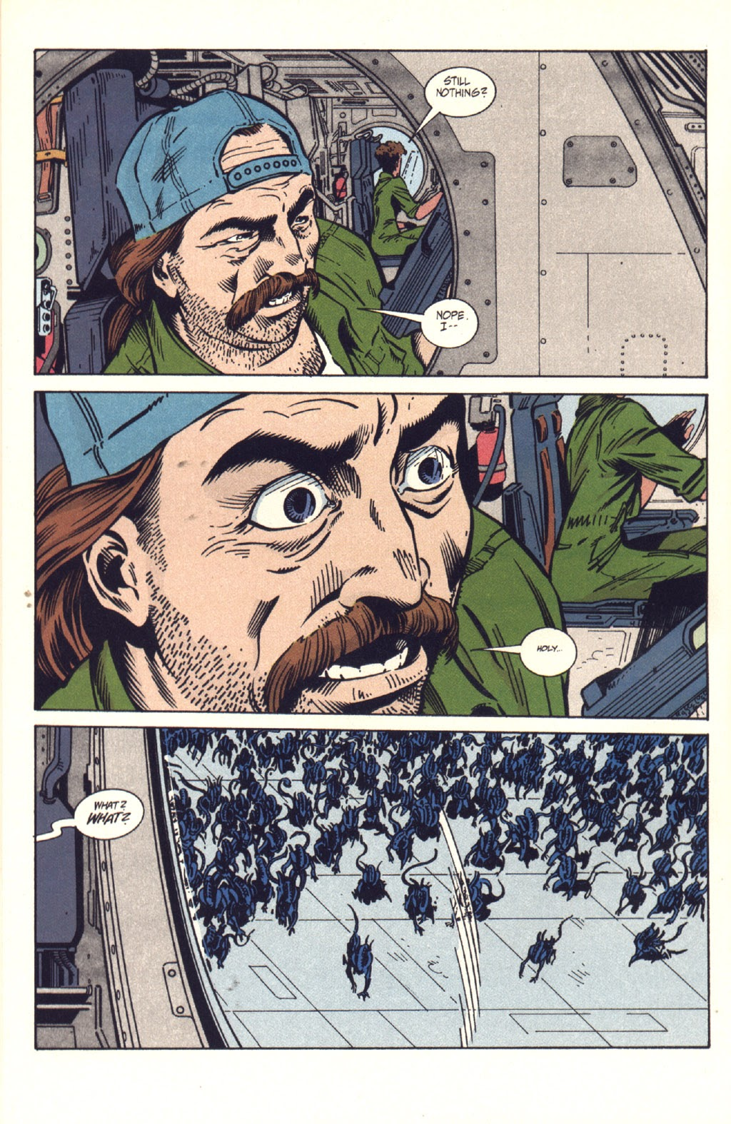 Read online Aliens: Colonial Marines comic -  Issue #9 - 15