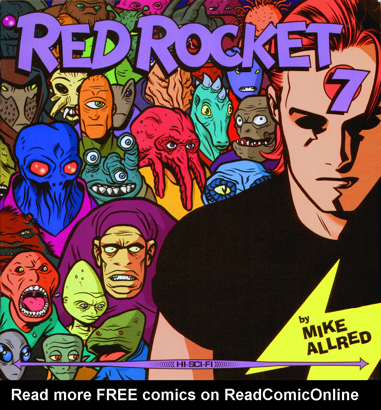 Red Rocket 7 issue 5 - Page 1
