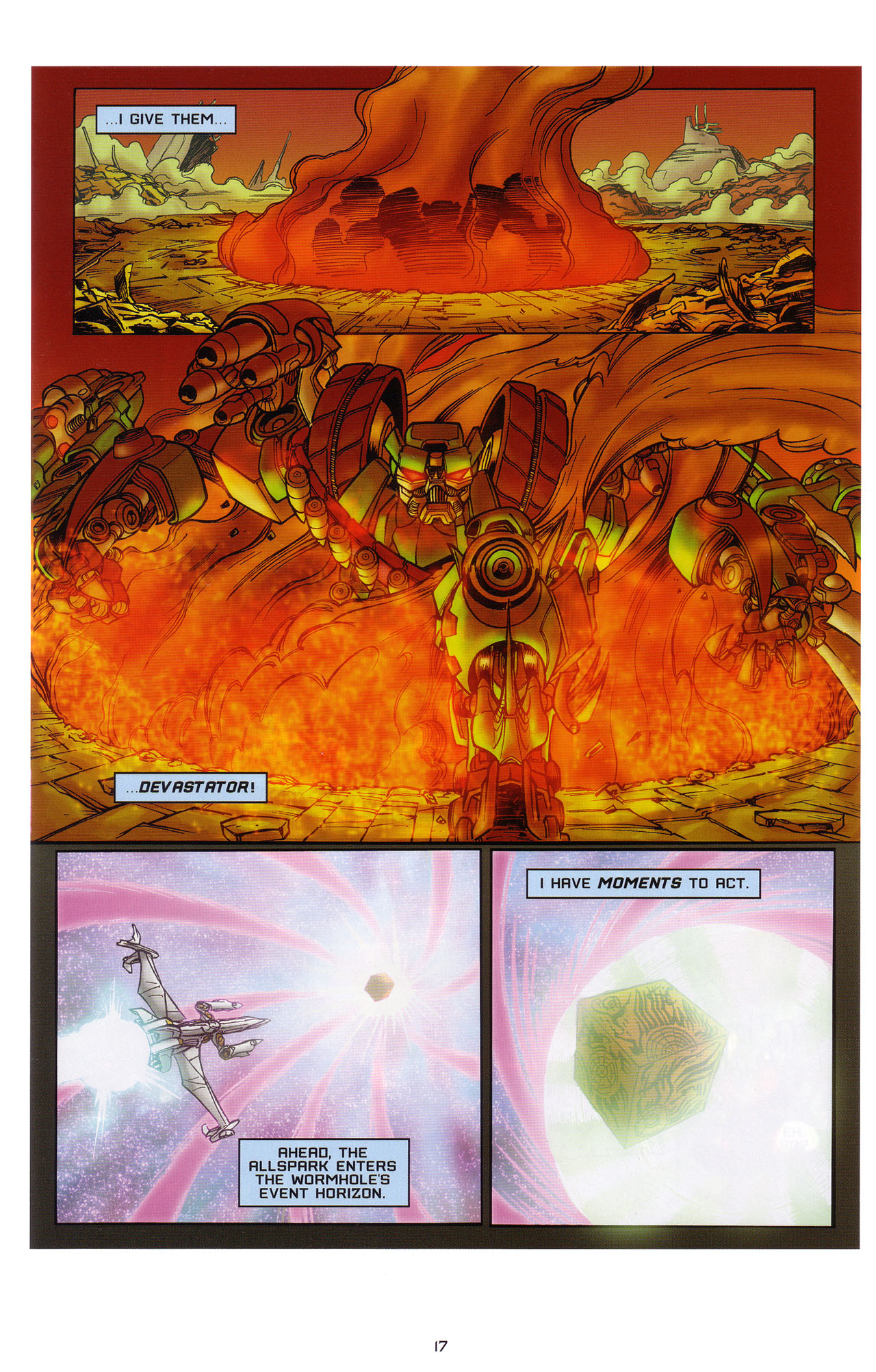 Read online Transformers: Saga of the Allspark comic -  Issue #1 - 18