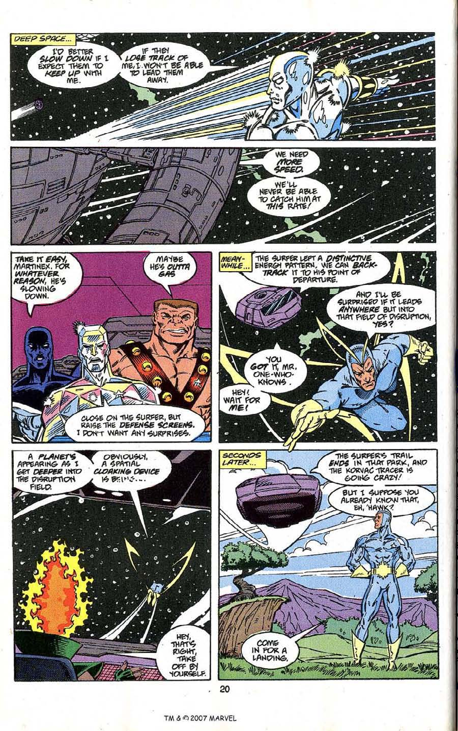 Read online Silver Surfer (1987) comic -  Issue # _Annual 4 - 22