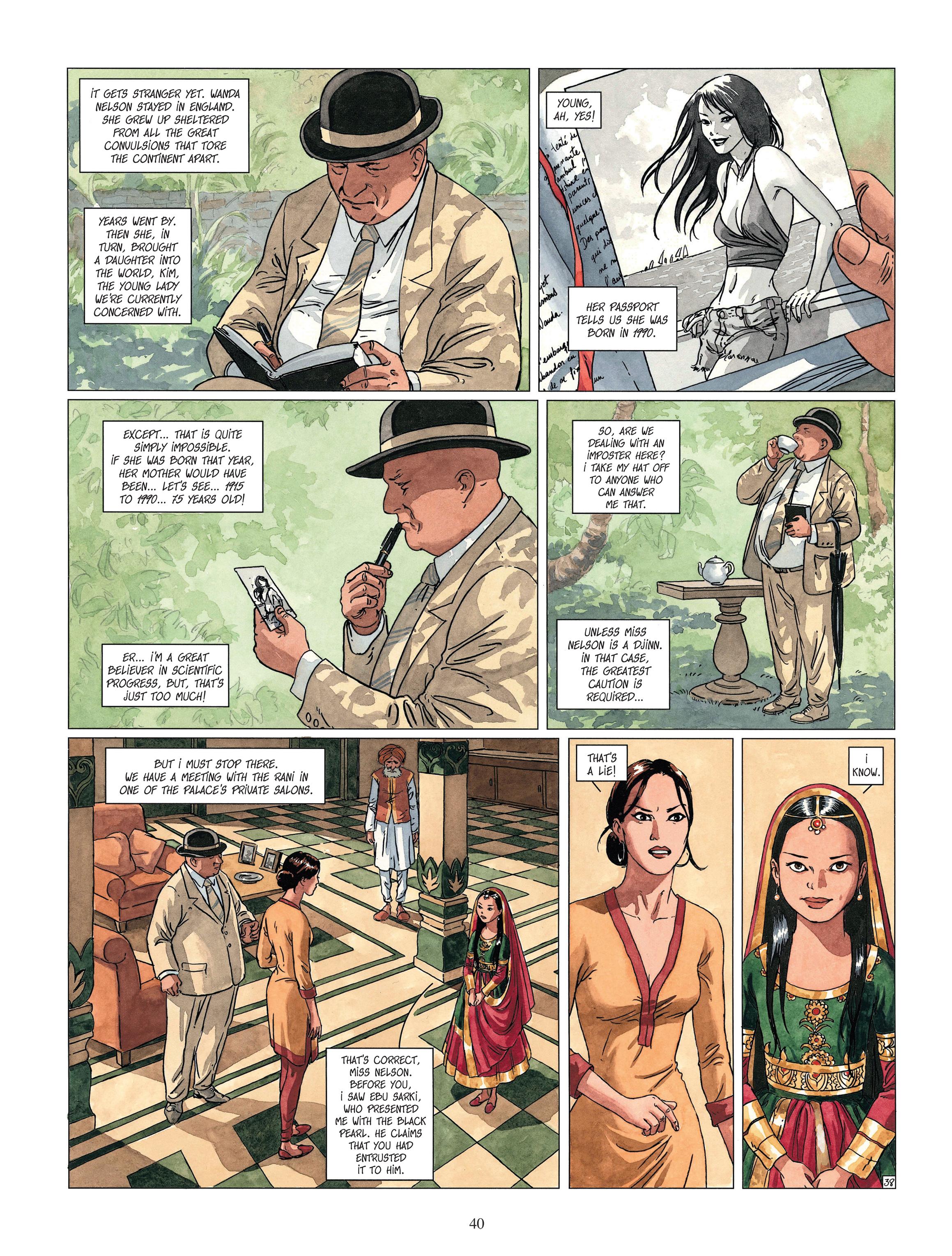 Read online Djinn comic -  Issue #13 - 41