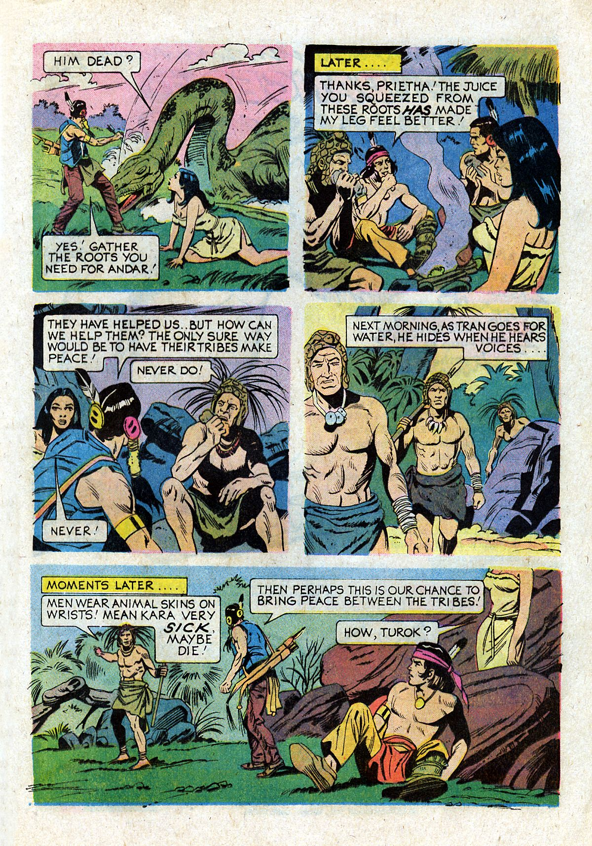 Read online Turok, Son of Stone comic -  Issue #93 - 13