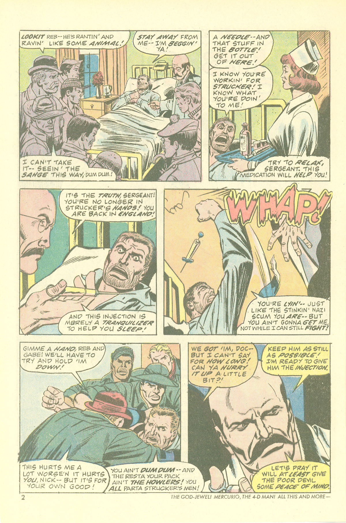 Read online Sgt. Fury comic -  Issue #115 - 4
