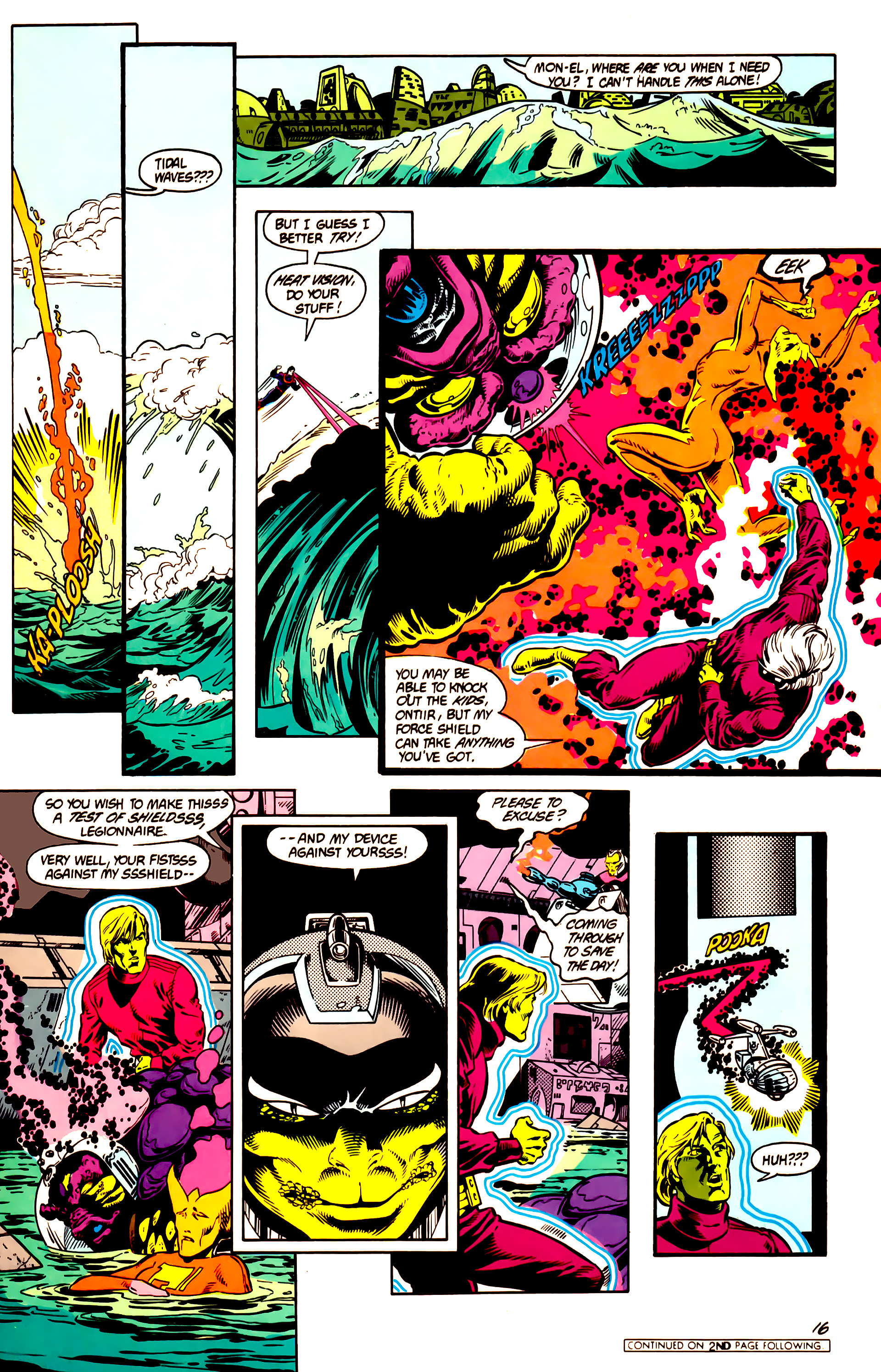 Legion of Super-Heroes (1984) 14 Page 17