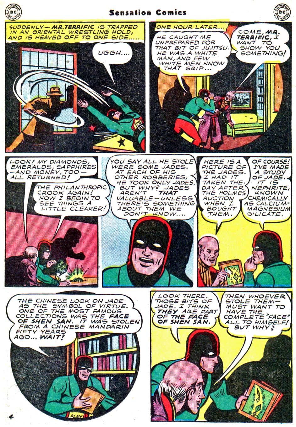 Read online Sensation (Mystery) Comics comic -  Issue #54 - 36