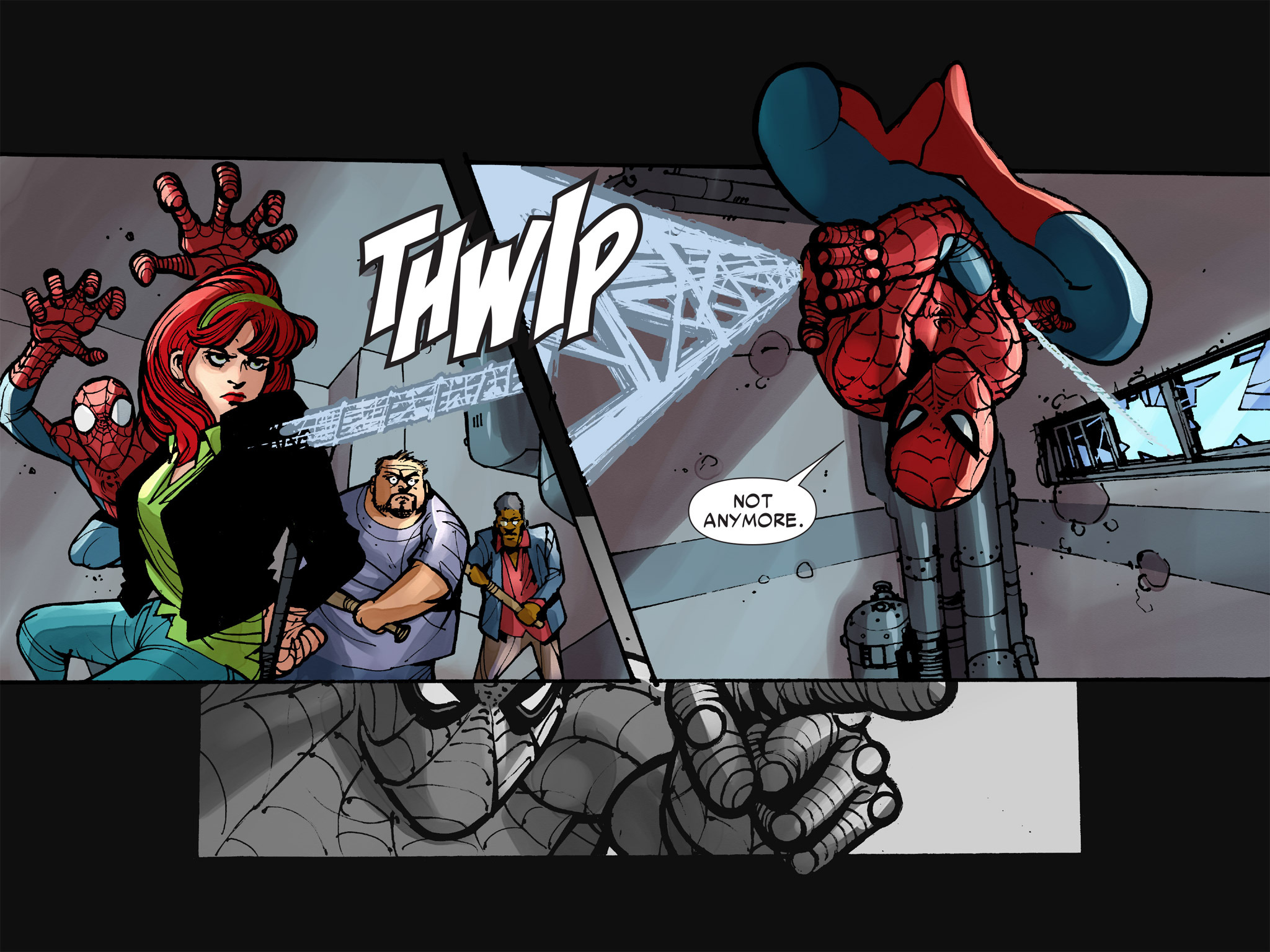 Read online Amazing Spider-Man: Who Am I? comic -  Issue # Full (Part 2) - 155
