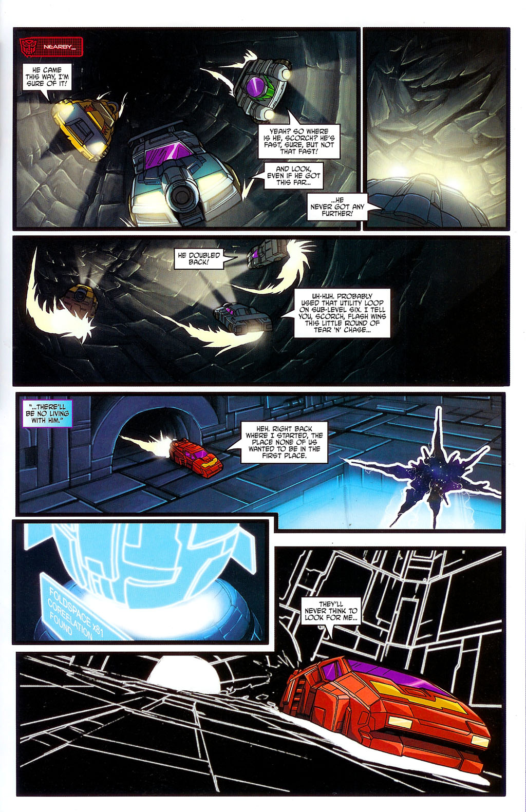 """Read online Transformers War Within: """"The Age of Wrath"""" comic -  Issue #3 - 21"""