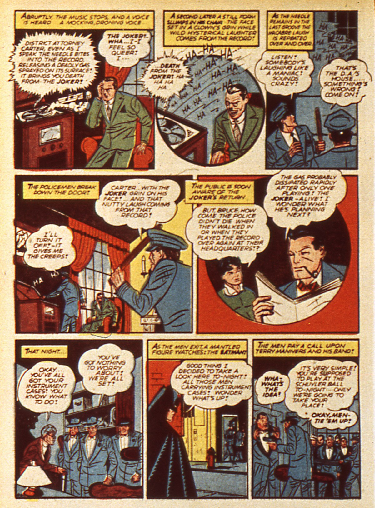 Read online Detective Comics (1937) comic -  Issue #45 - 8