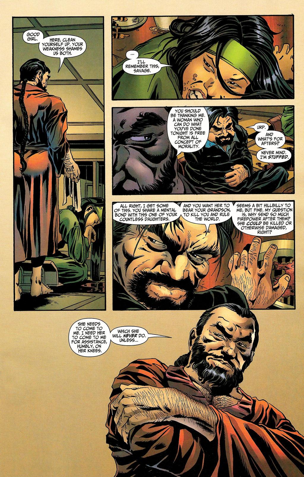 Read online Secret Six (2006) comic -  Issue #4 - 15