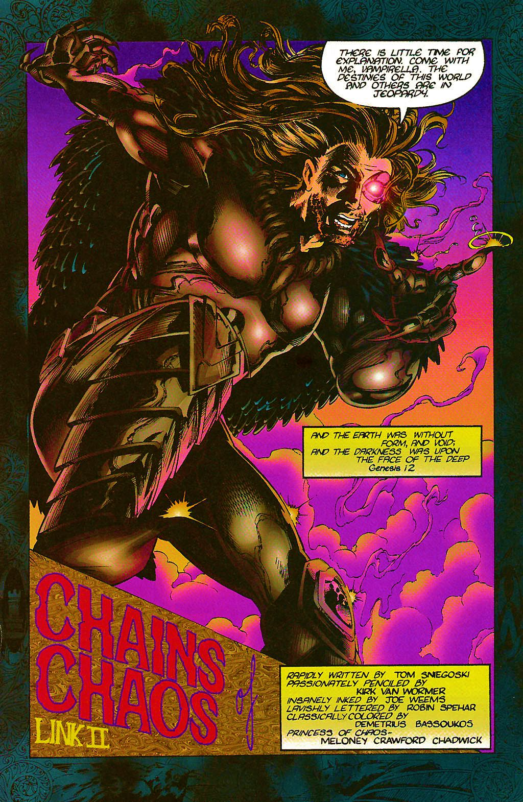 Read online Chains of Chaos comic -  Issue #2 - 3