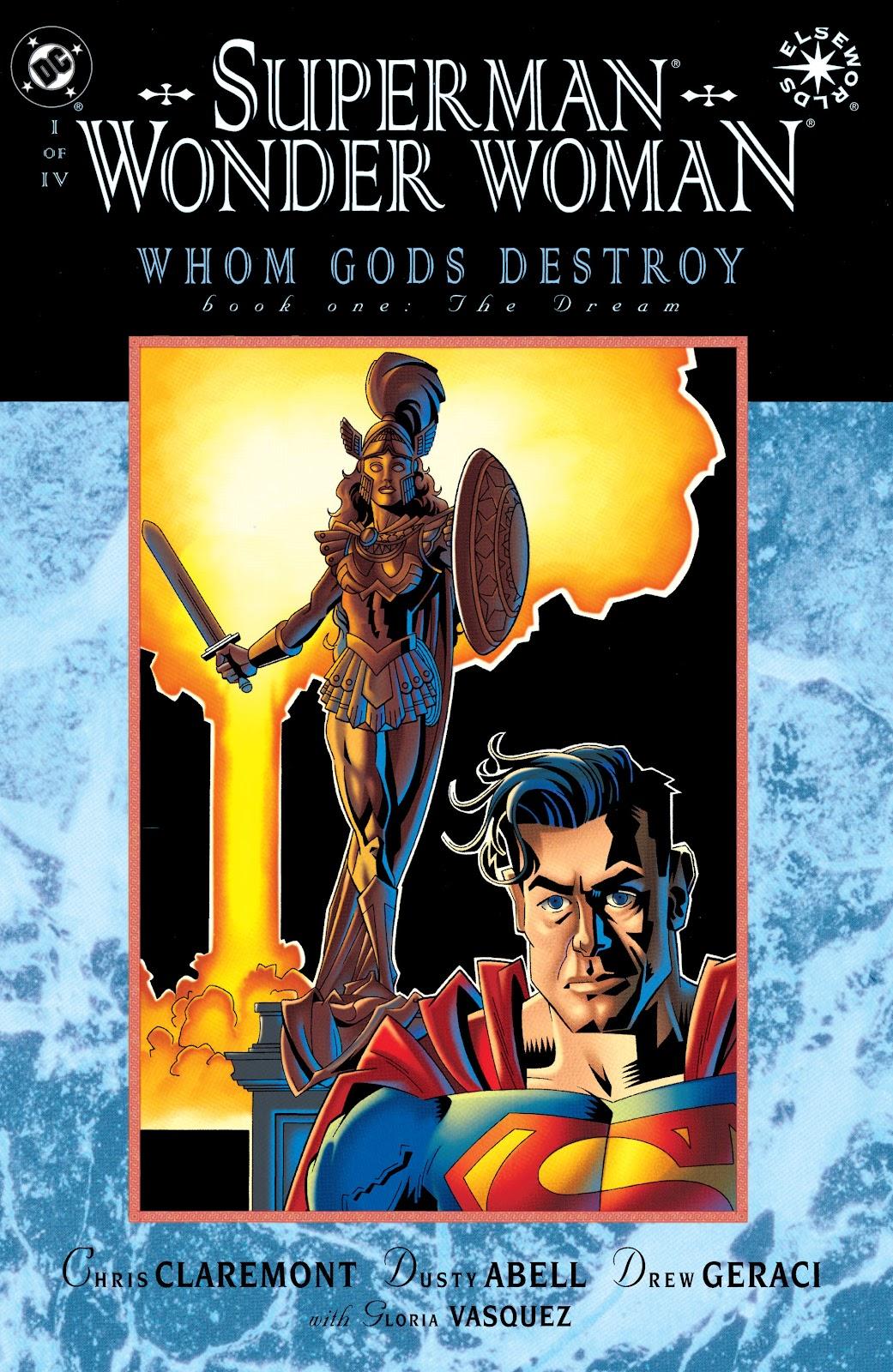 Superman/Wonder Woman: Whom Gods Destroy issue 1 - Page 1